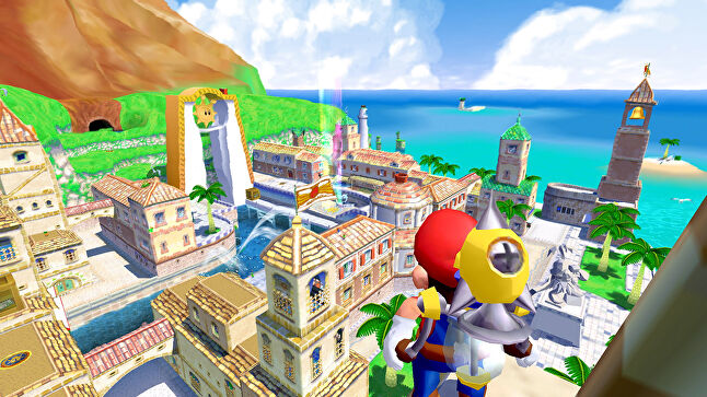 What a joy to return to Super Mario Sunshine after 18 years