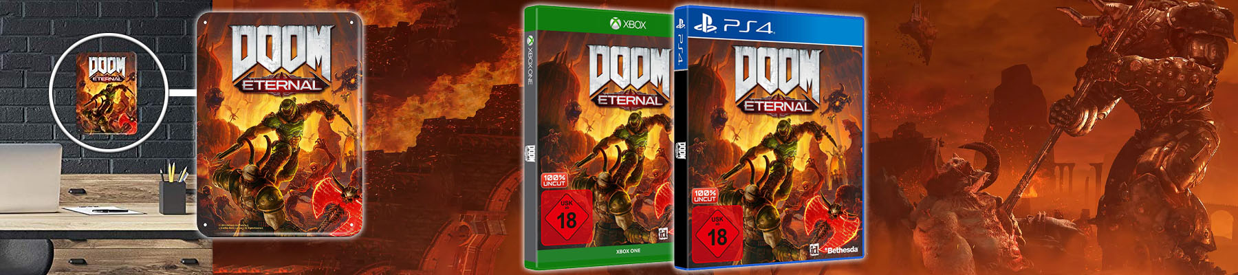 DOOM Eternal inkl. Metal Plate
