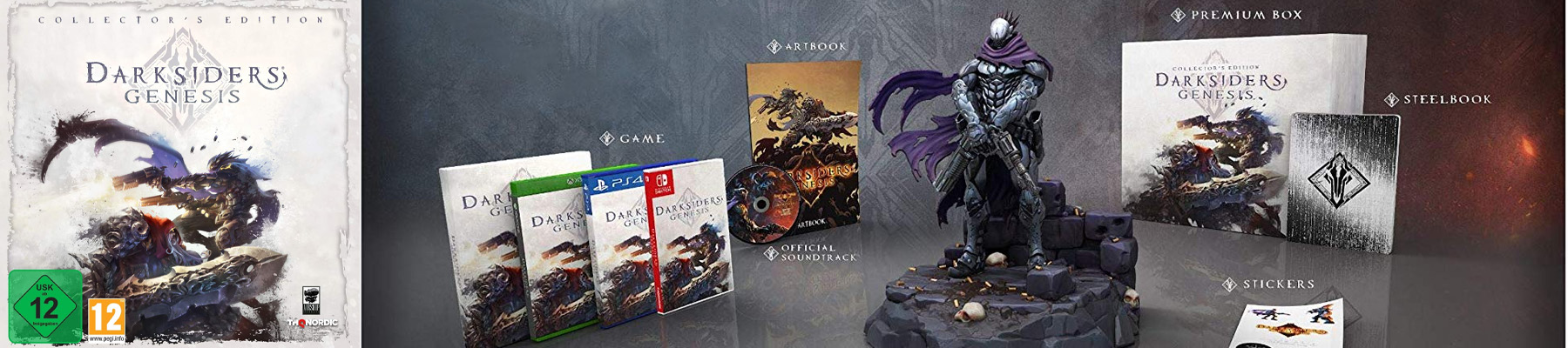 Darksiders Genesis Collector's Edition