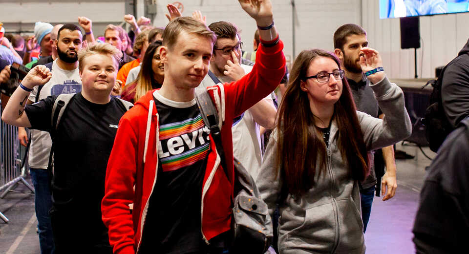 Bring the squad! EGX 2020 group bookings