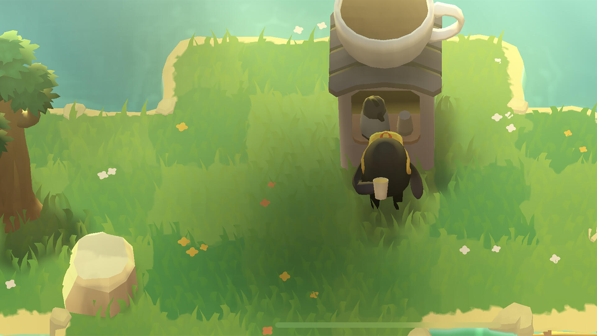 In A Monster S Expedition Getting Stuck On A Puzzle Isn T The End Of The World Usgamer