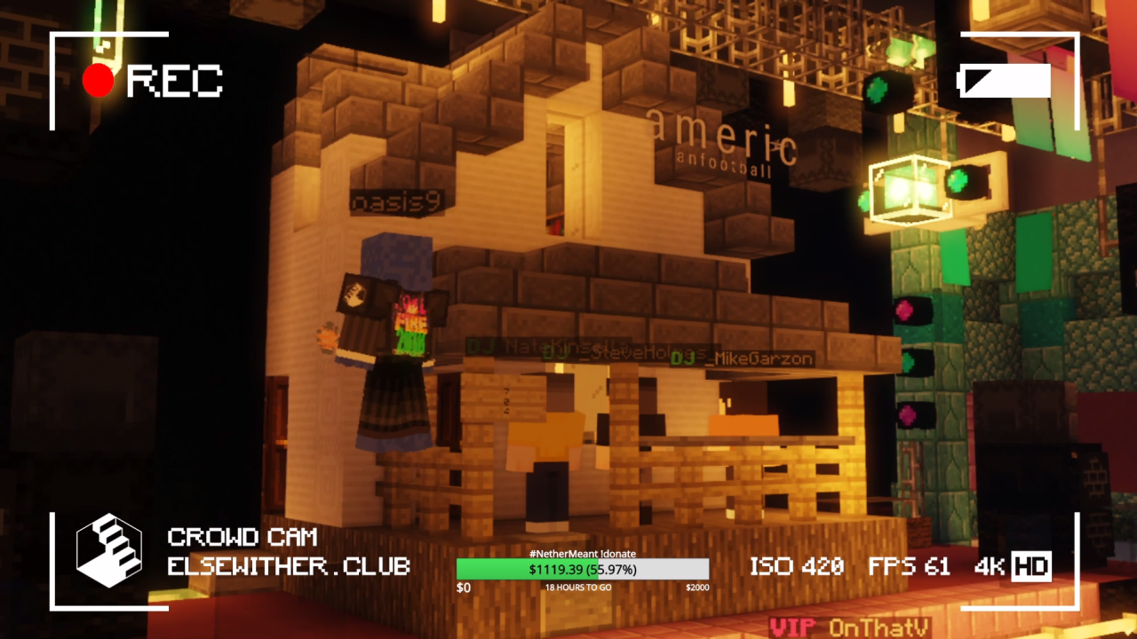 Without Tours To Go On Some Musicians Are Taking To Minecraft Usgamer