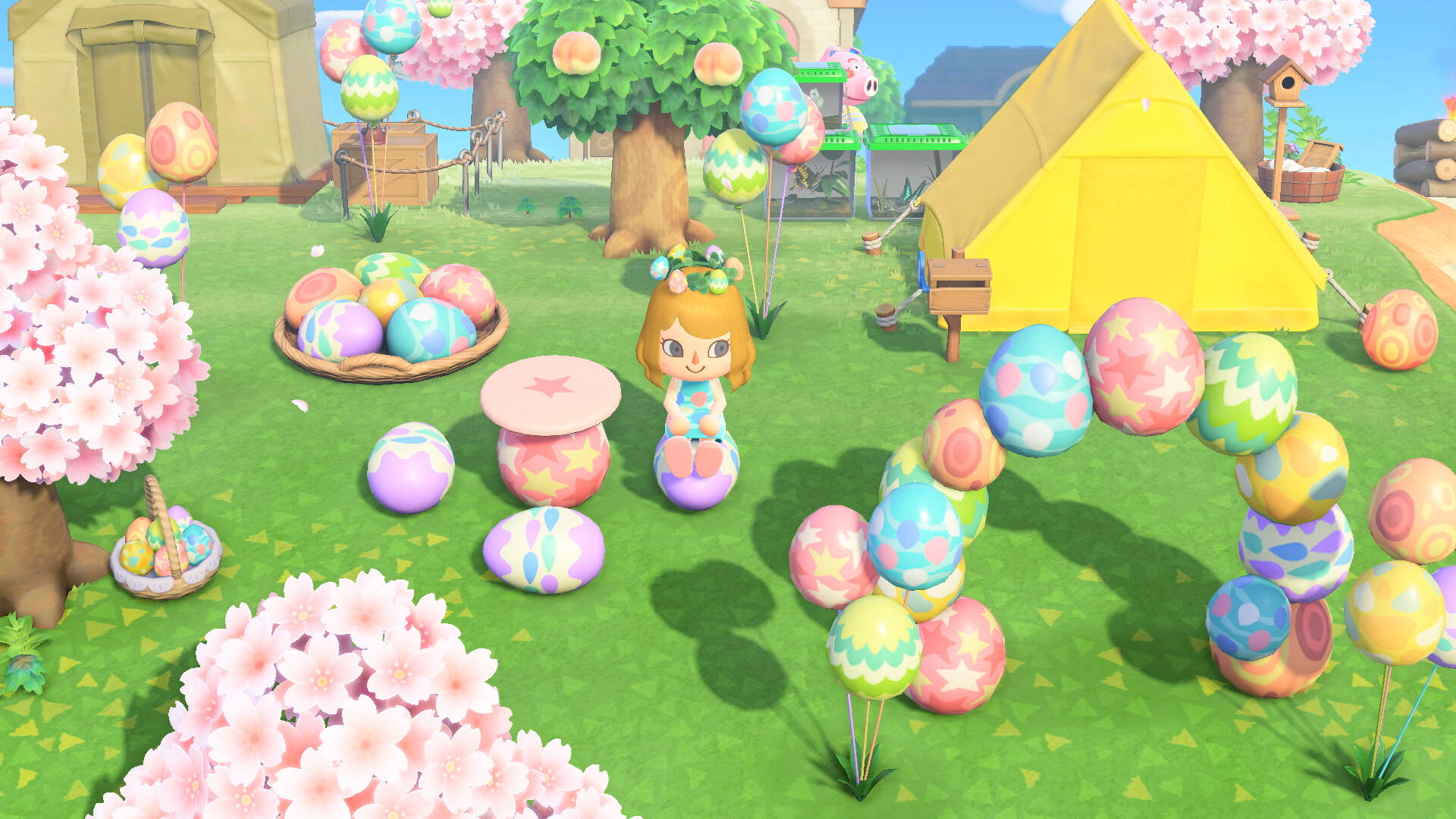 Animal Crossing New Horizons Players Can Skip Ahead To Cherry Blossoms After The New Patch Usgamer