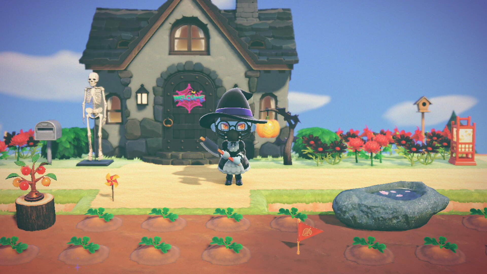 I'm The Pumpkin Queen of Animal Crossing: New Horizons