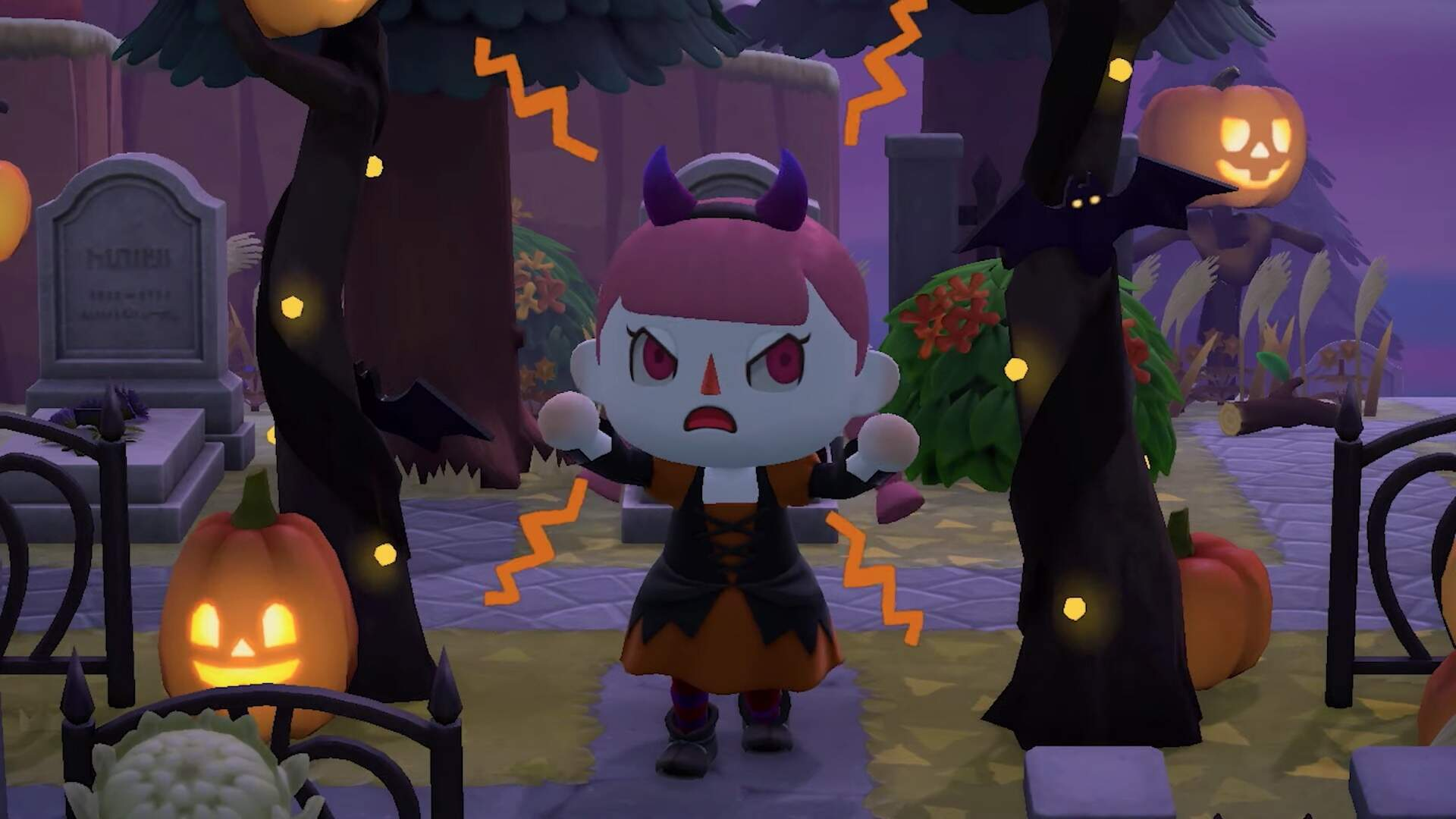 Animal Crossing: New Horizons Gets in the Spooky Spirit With a New Fall Update