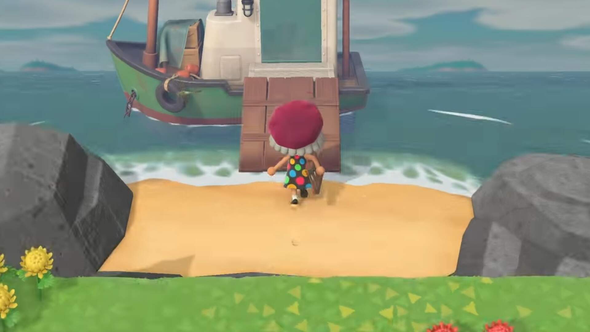 Animal Crossing New Horizons How To Find Redd S Treasure Trawler Usgamer