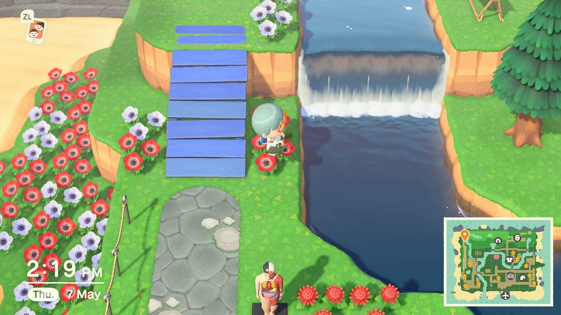 Animal Crossing New Horizons: What Counts as a Clifftop River?