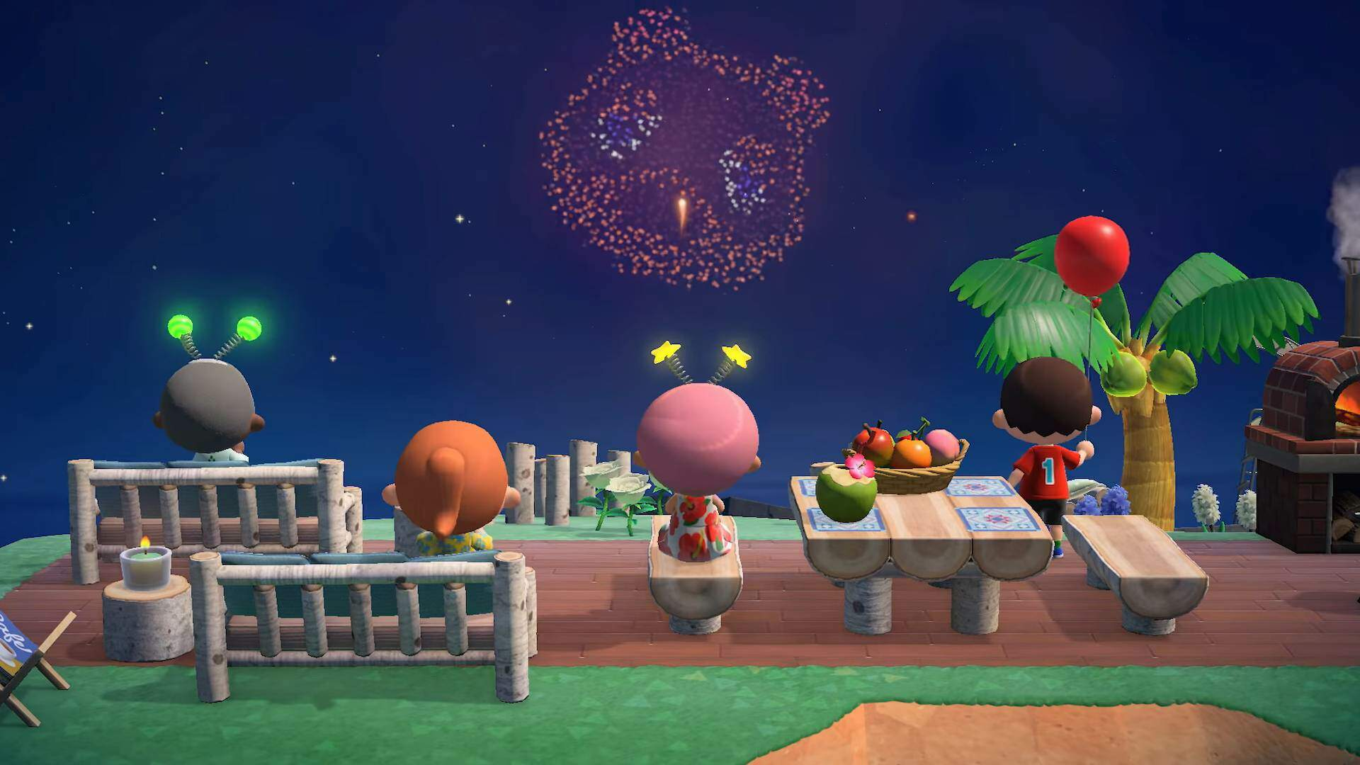 Animal Crossing: New Horizons's Fireworks Are Being Put to All Sorts of Creative Uses