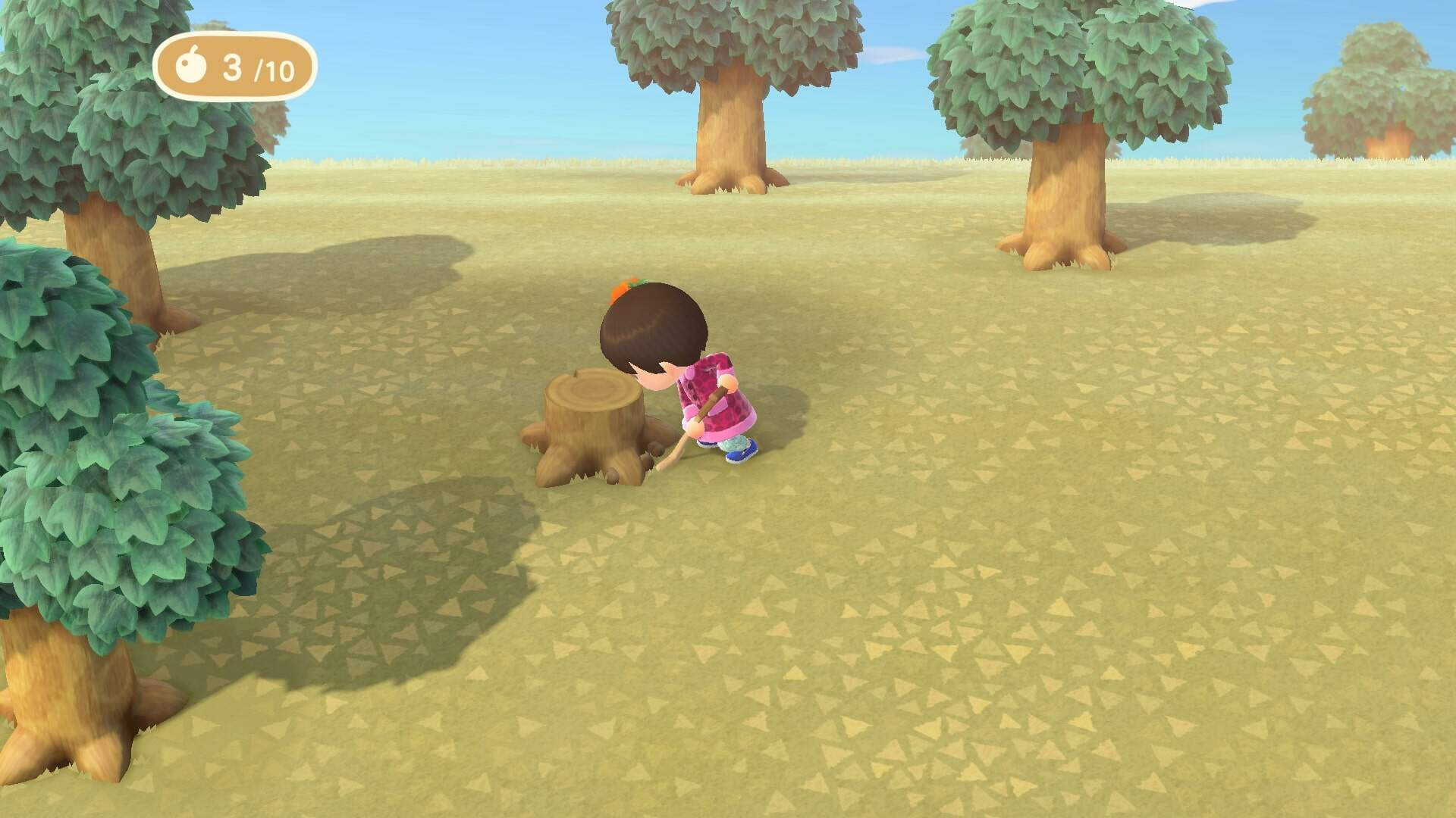 Animal Crossing New Horizons: How to Get Rid of Tree Stumps