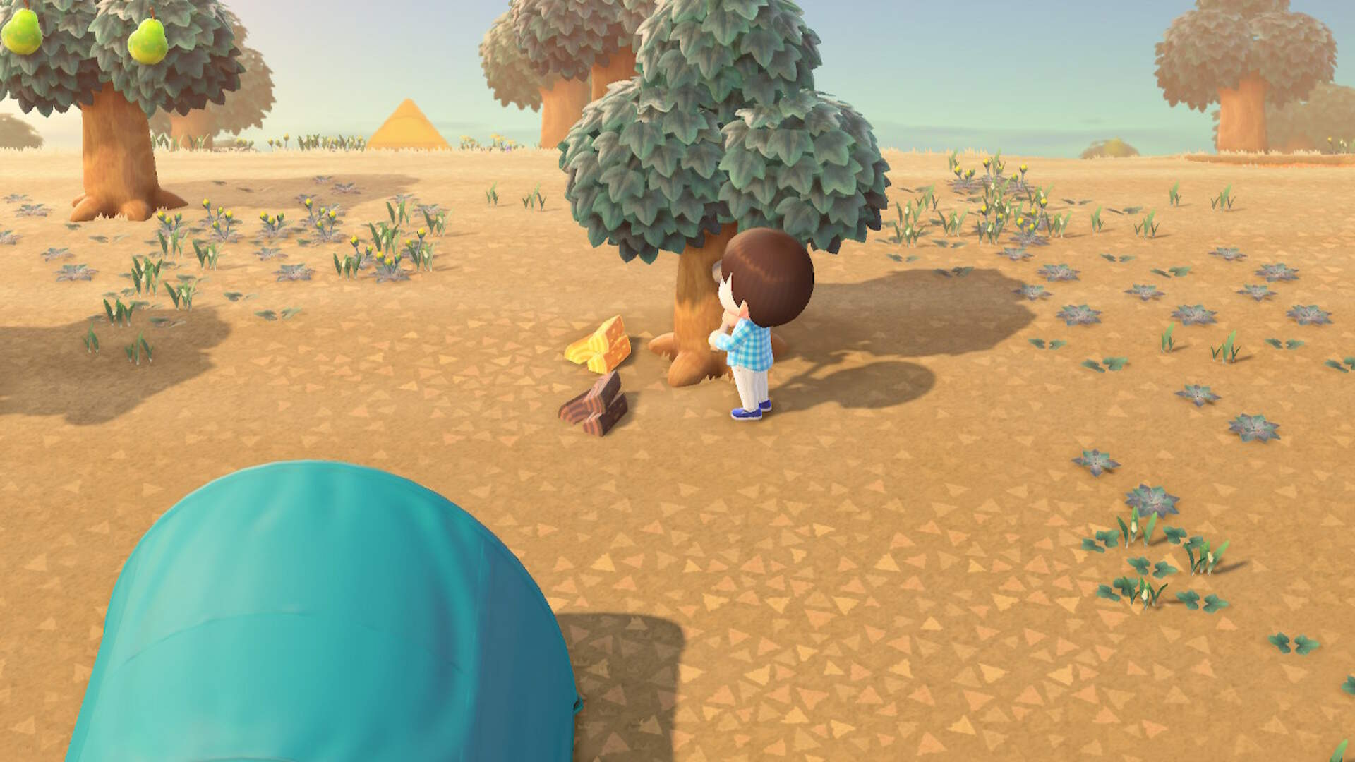 Animal Crossing New Horizons: How to Get Hardwood, Softwood and Wood