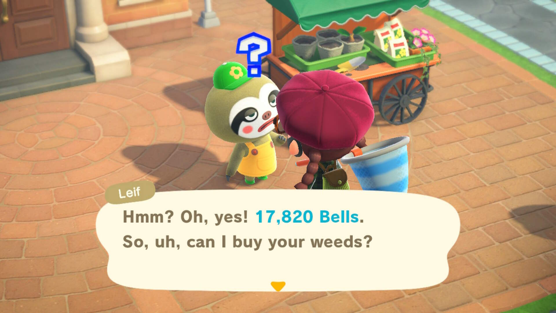 Animal Crossing: New Horizons' Nature Day Has Made us All Weed Dealers