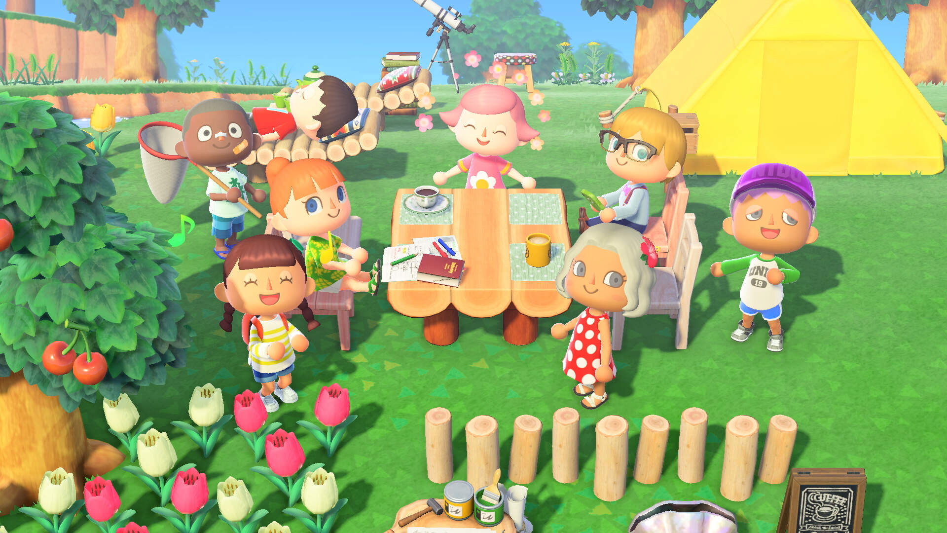Competitive Musical Chairs Brings Out the Beast in Animal Crossing: New Horizons Players
