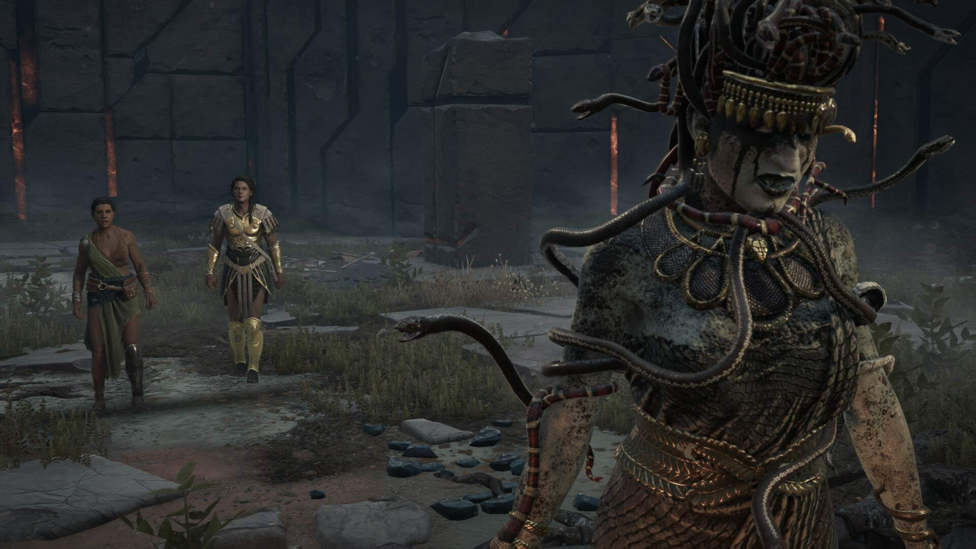 Assassin's Creed Odyssey: How to Beat the Medusa Boss Fight
