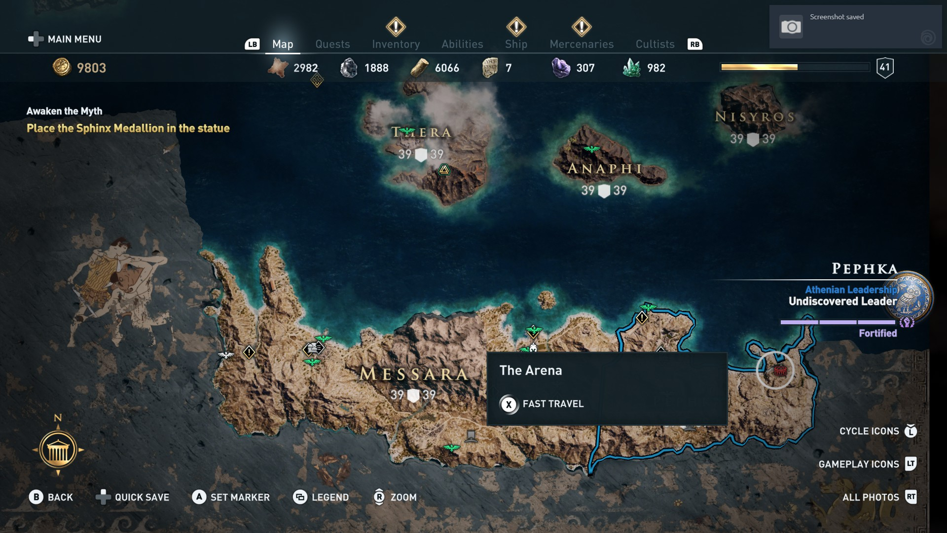Assassin S Creed Odyssey Where To Find The Arena Usgamer