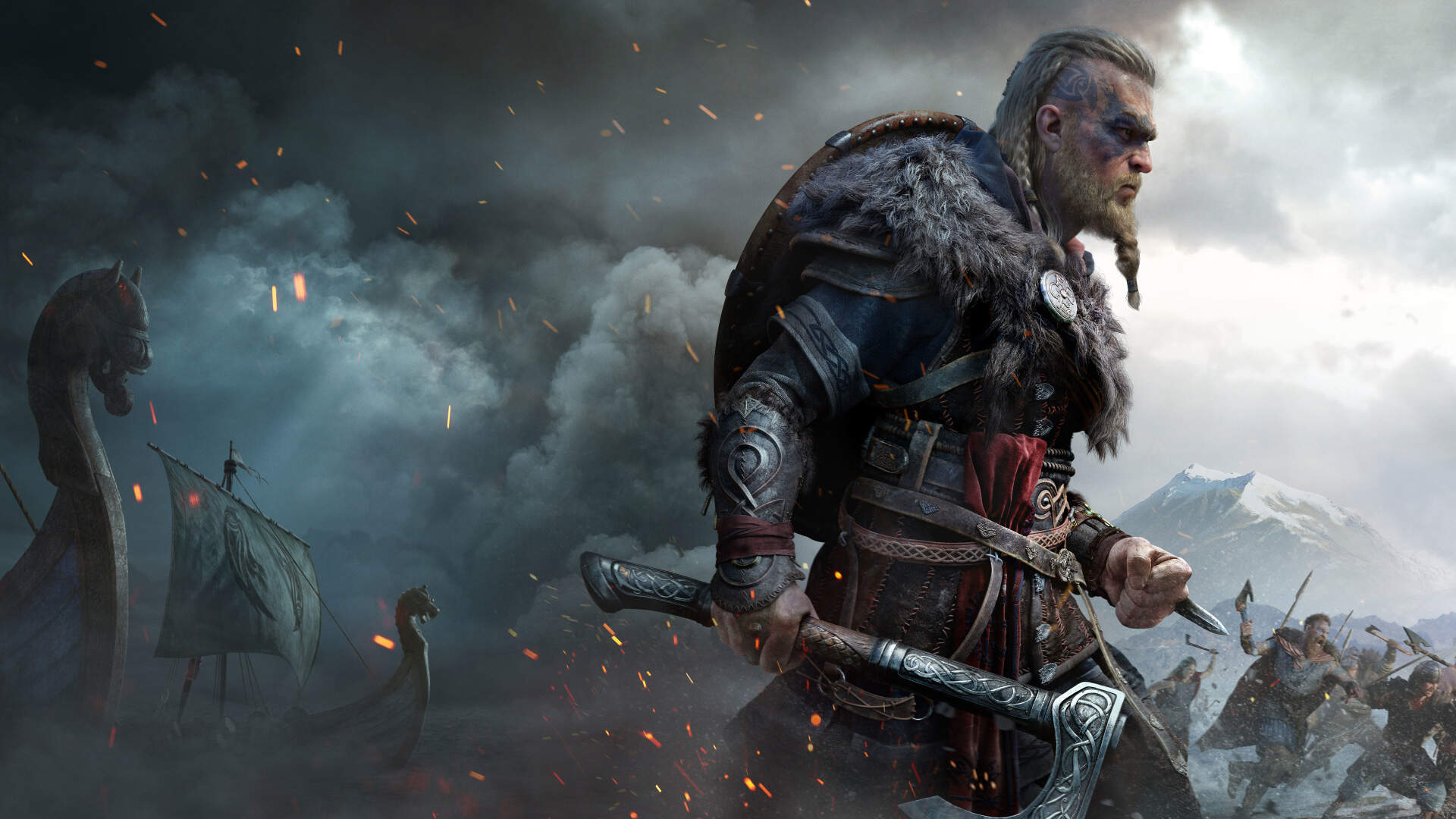Another Leaked Assassin S Creed Valhalla Video Calms The Community