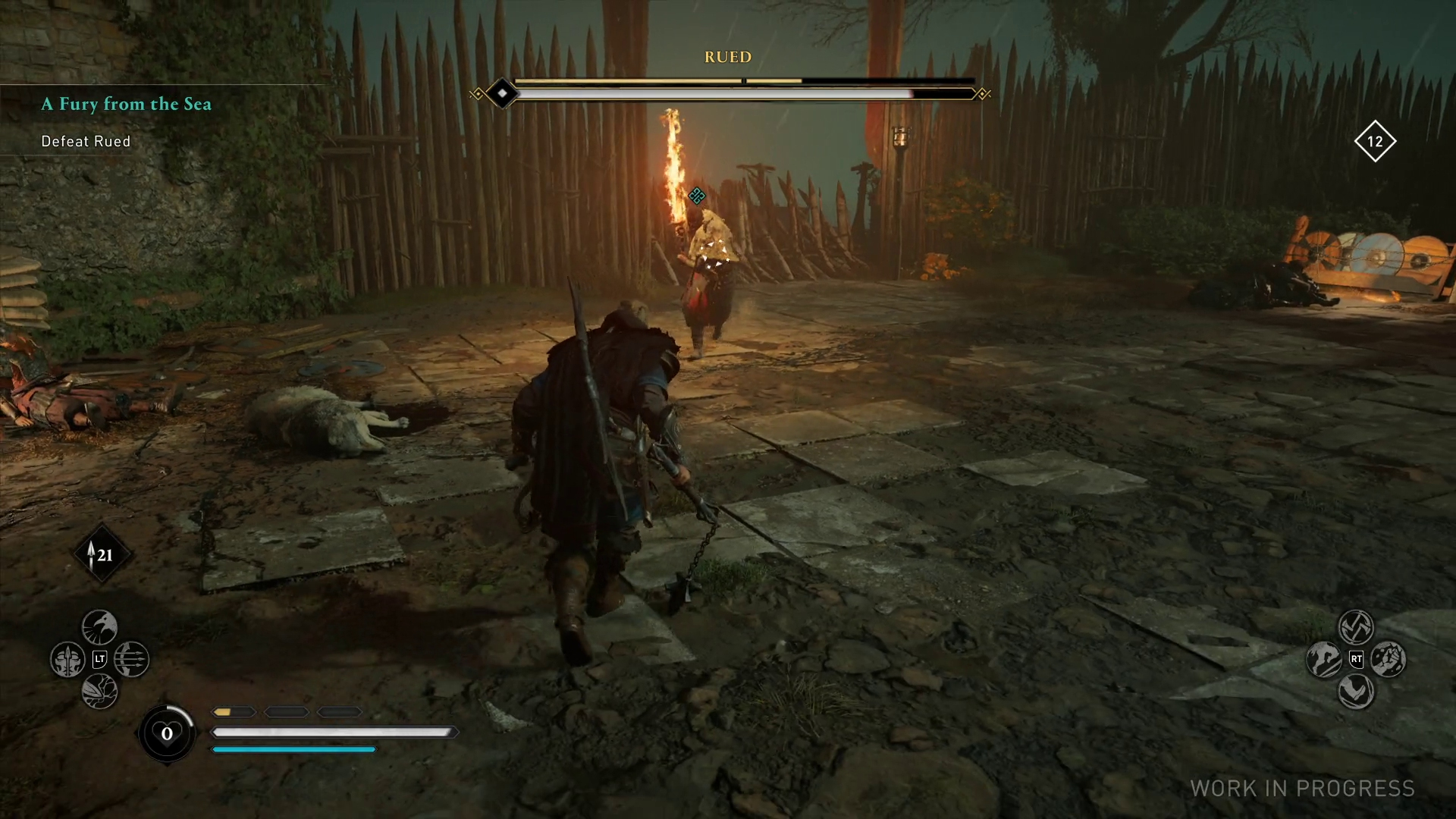 Assassin S Creed Valhalla Hands On A Flatter Earth Dual Wielding