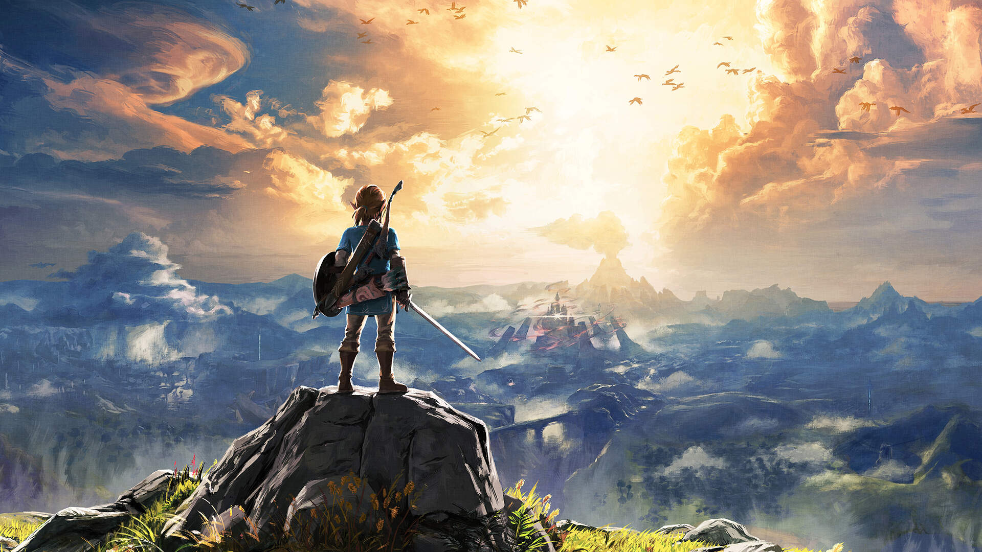 Turns Out Breath of the Wild's Guardian Battle Theme Is an Inversion of Zelda's Lullaby