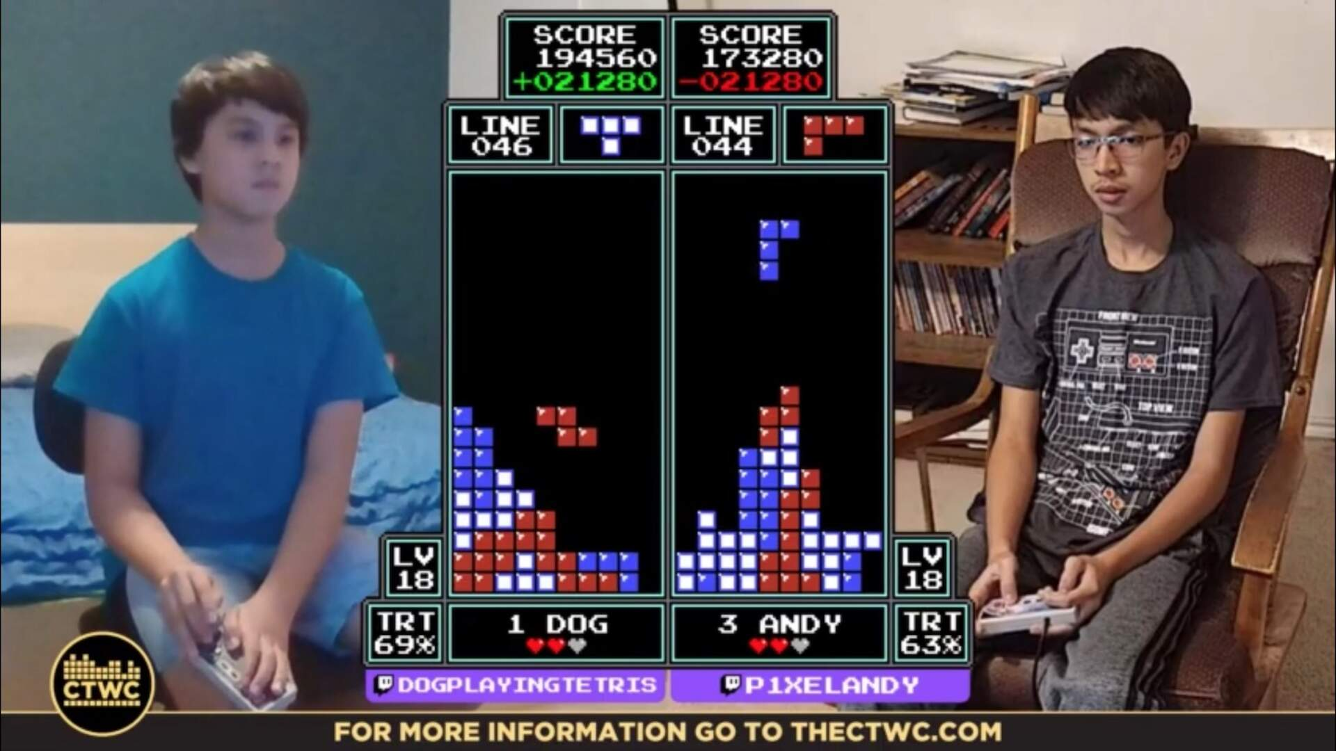 NES Tetris Tournament Crowns New World Champion in Brother Against Brother Battle