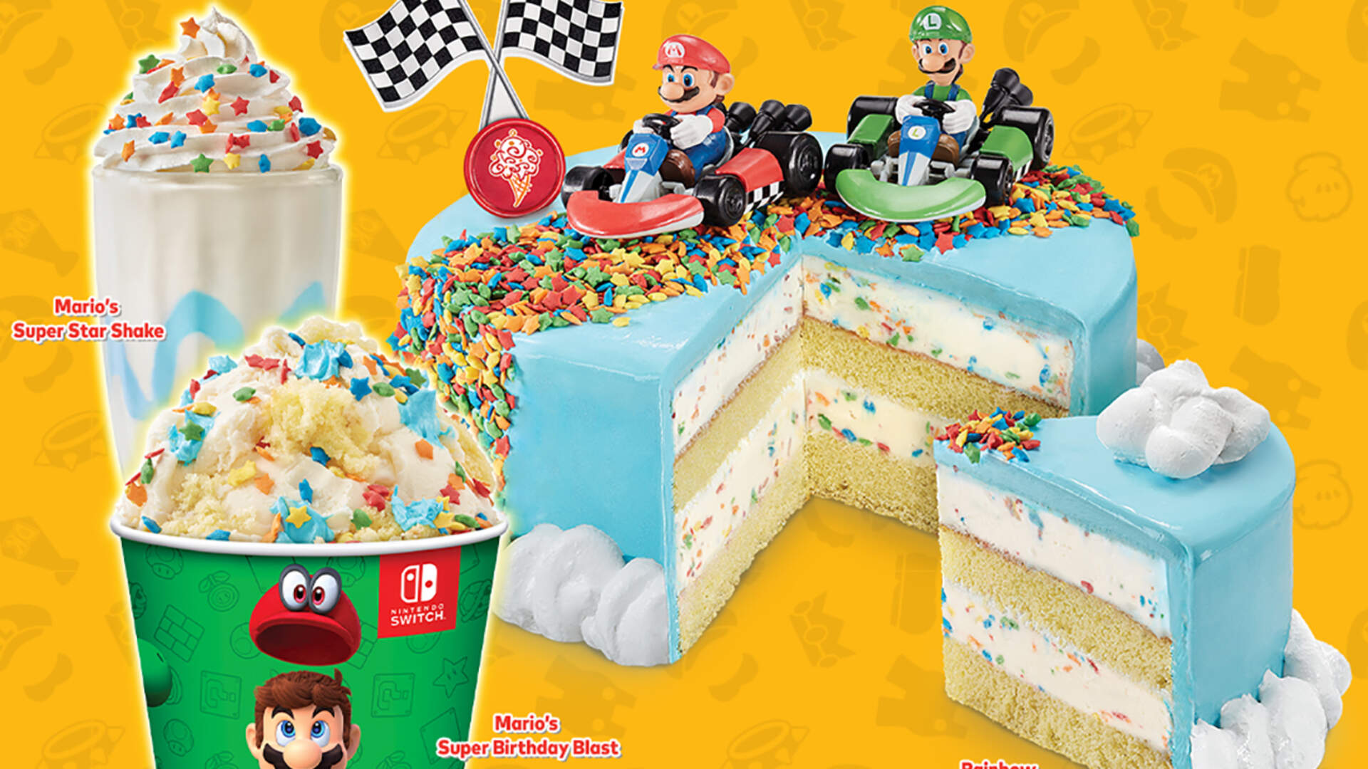 Coldstone's Super Mario Bros. Anniversary Goods Sound Too Sweet For Humans to Consume
