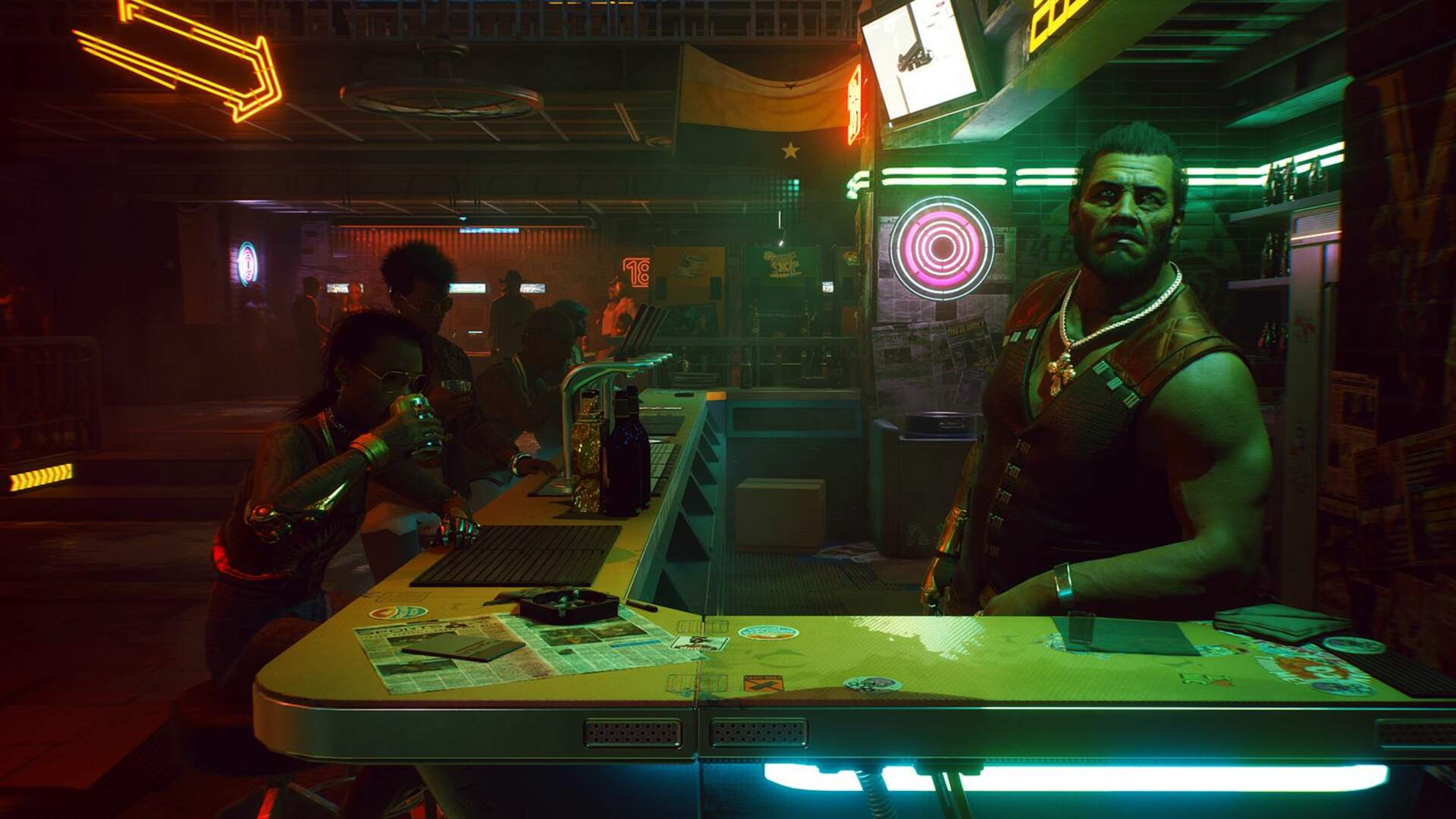 Cyberpunk 2077's New Gameplay Is Hiding a Witcher 3 Easter Egg