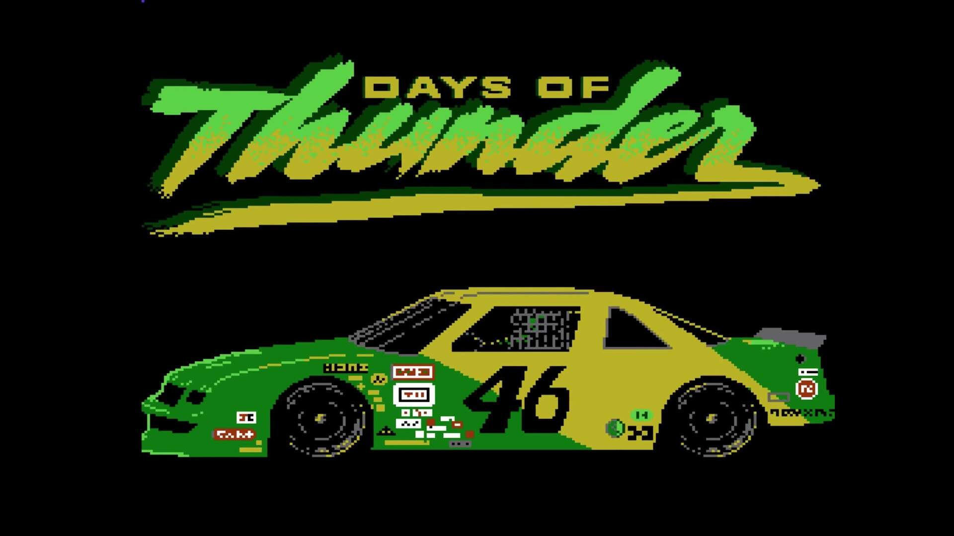 A Lost NES Game Based on Tom Cruise's Days of Thunder Has Been Fully Reconstructed
