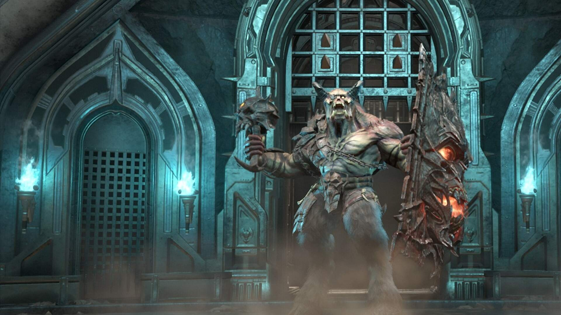 doom eternal marauder wallpaper