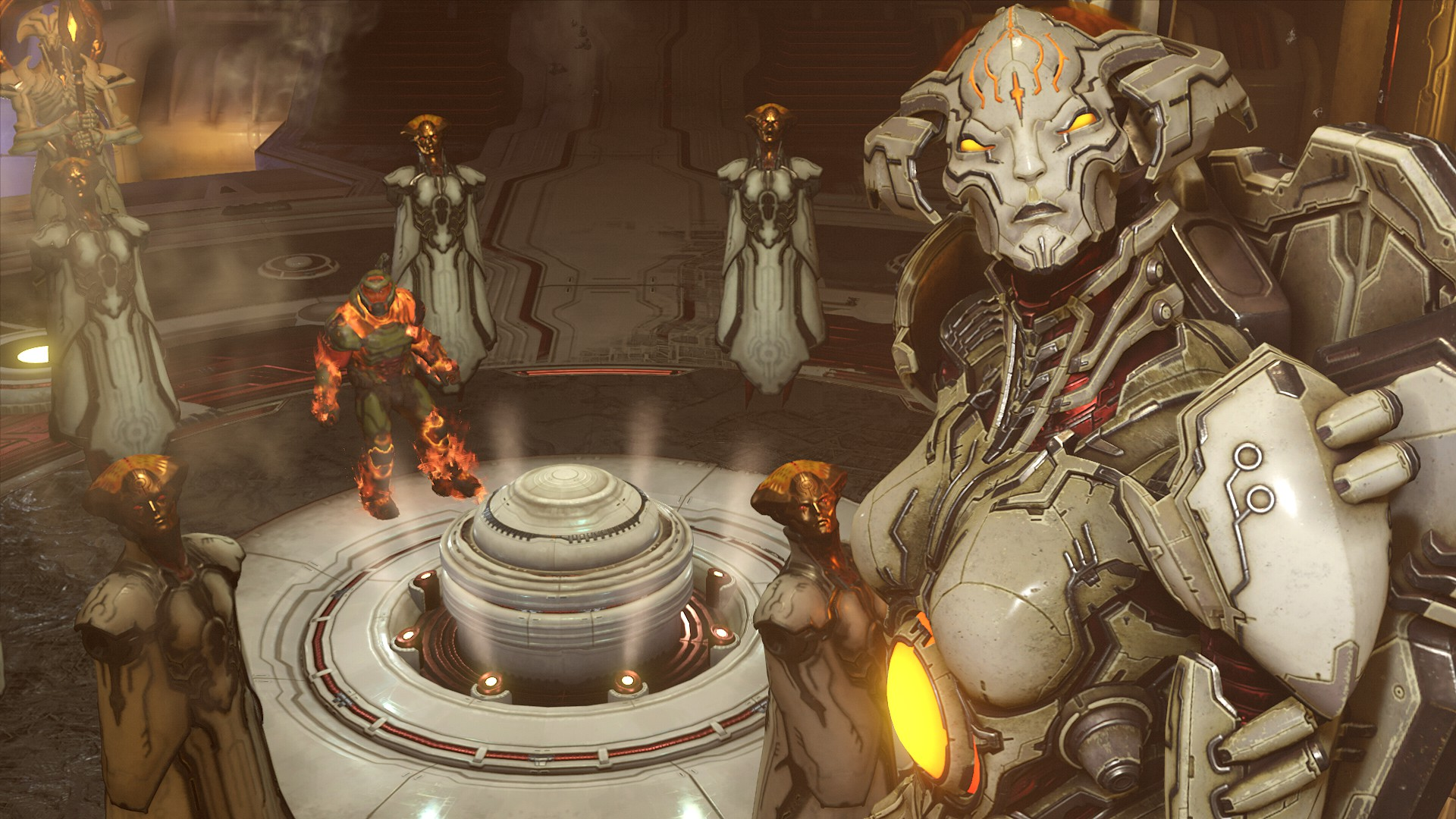Doom Eternal Story Lore And Ending Fully Explained Usgamer
