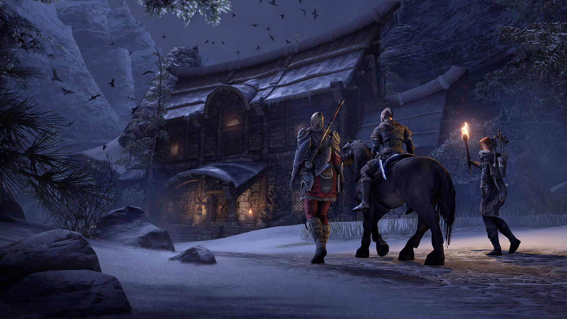 The Elder Scrolls Online Ventures Into Skyrim With Greymoor Expansion This May
