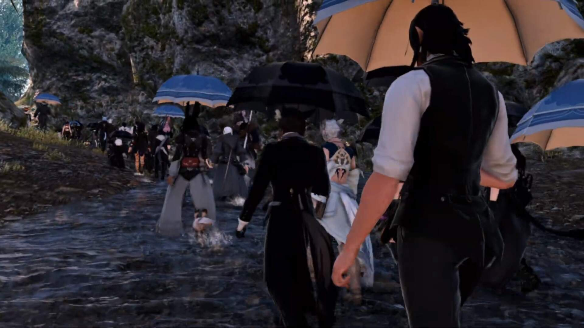 Final Fantasy 14 Players Host Memorial Procession For Player Who Died of COVID-19