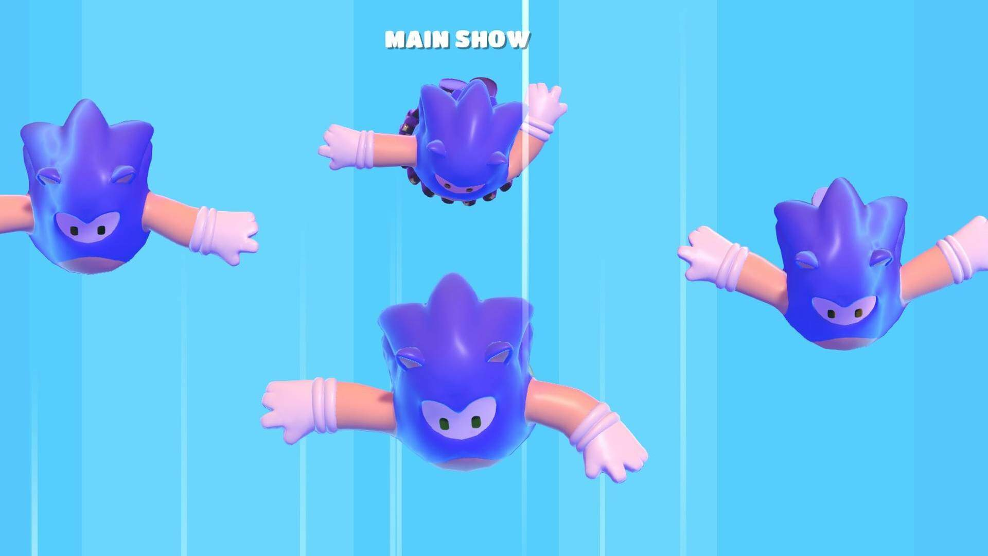 Fall Guys Lets You Be the Blue Blur With Sonic the Hedgehog Costume
