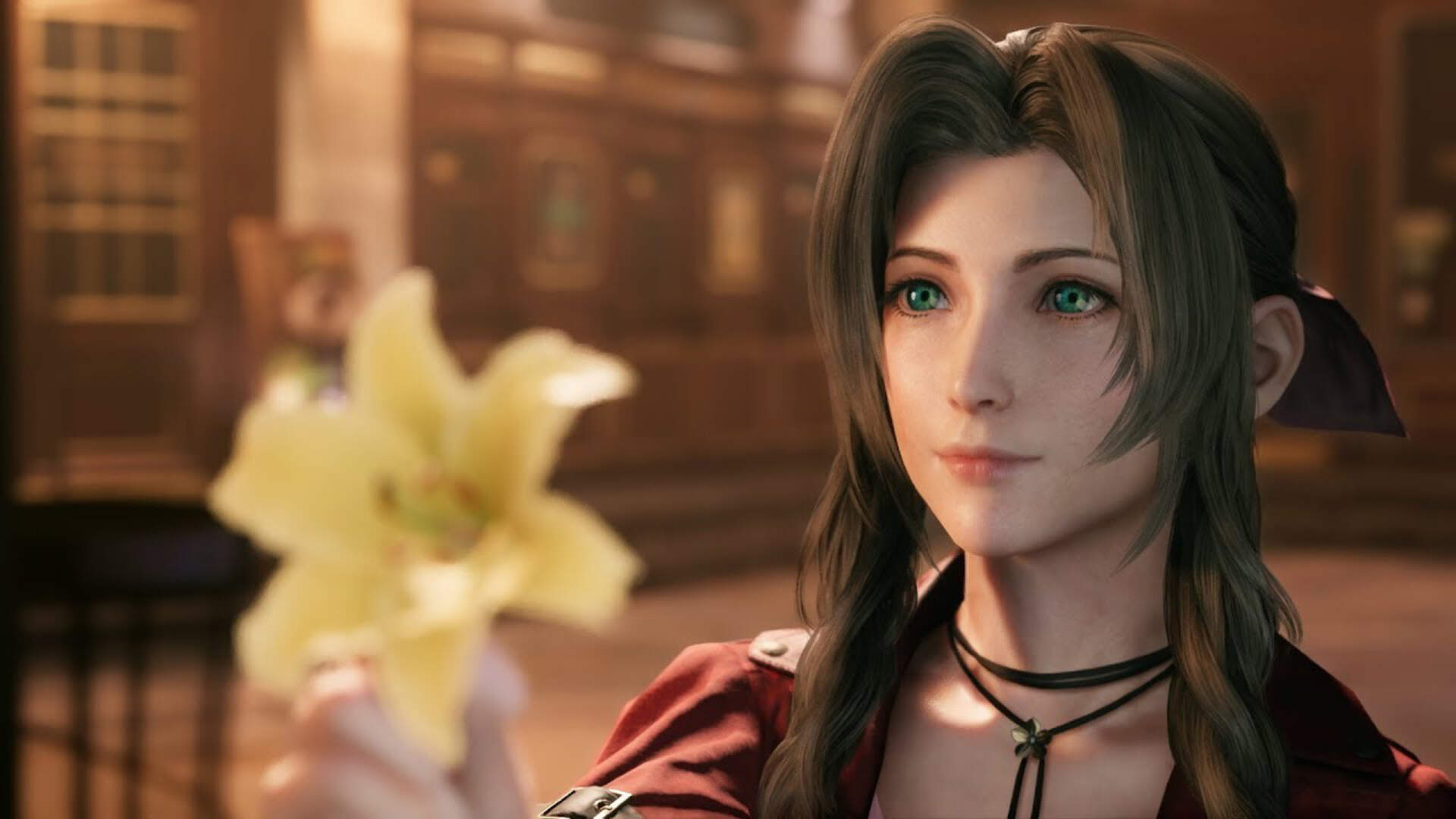 Aerith's Actor Has a Lovely Reaction to Her Voice in Final Fantasy 7 Remake