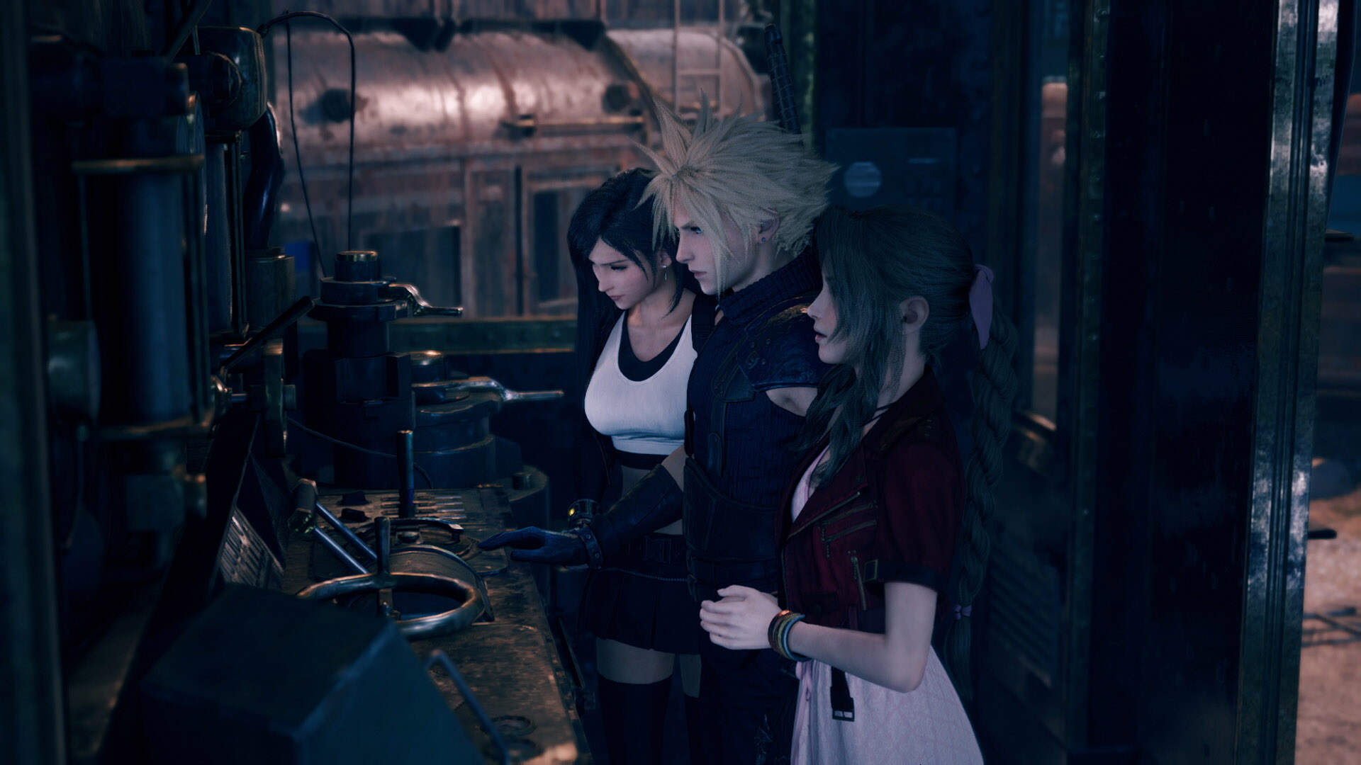 Final Fantasy 7 Remake's Developers Tried to Avoid Playing Favorites With Tifa and Aerith