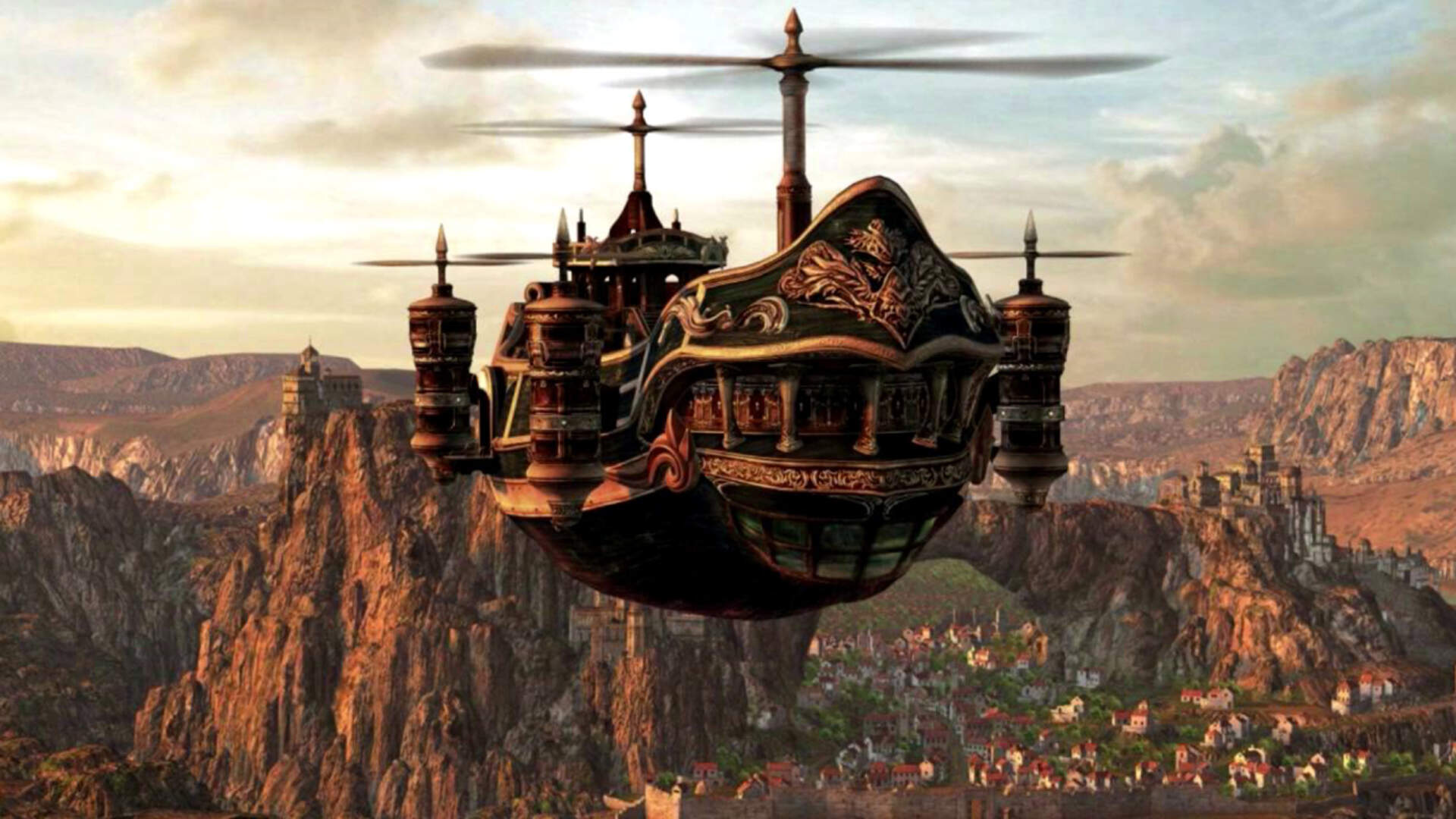 Axe of the Blood God: Why Airships Rule