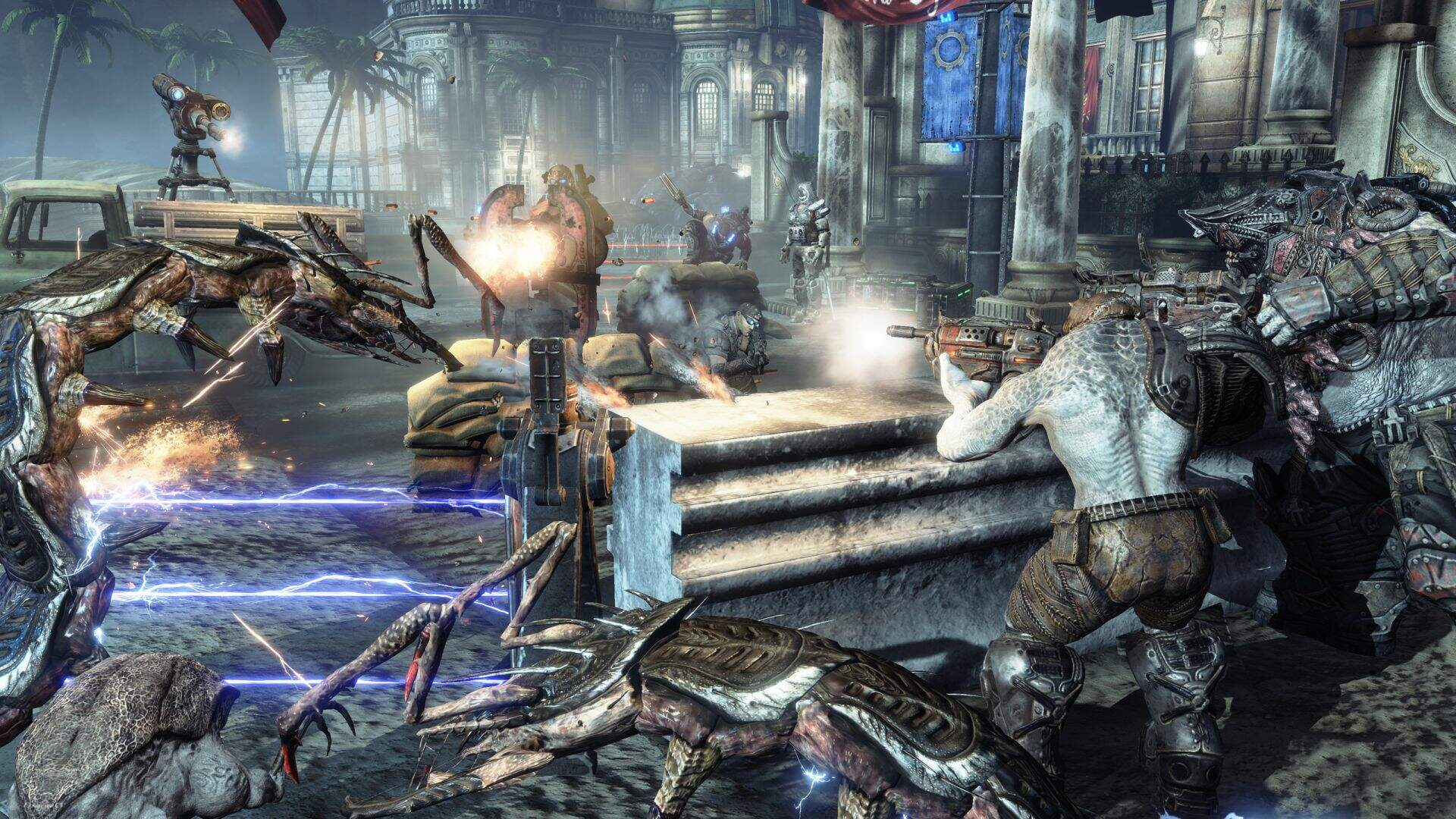 Gears of War 3 Footage Reportedly Running on PS3 Surfaces [Update]