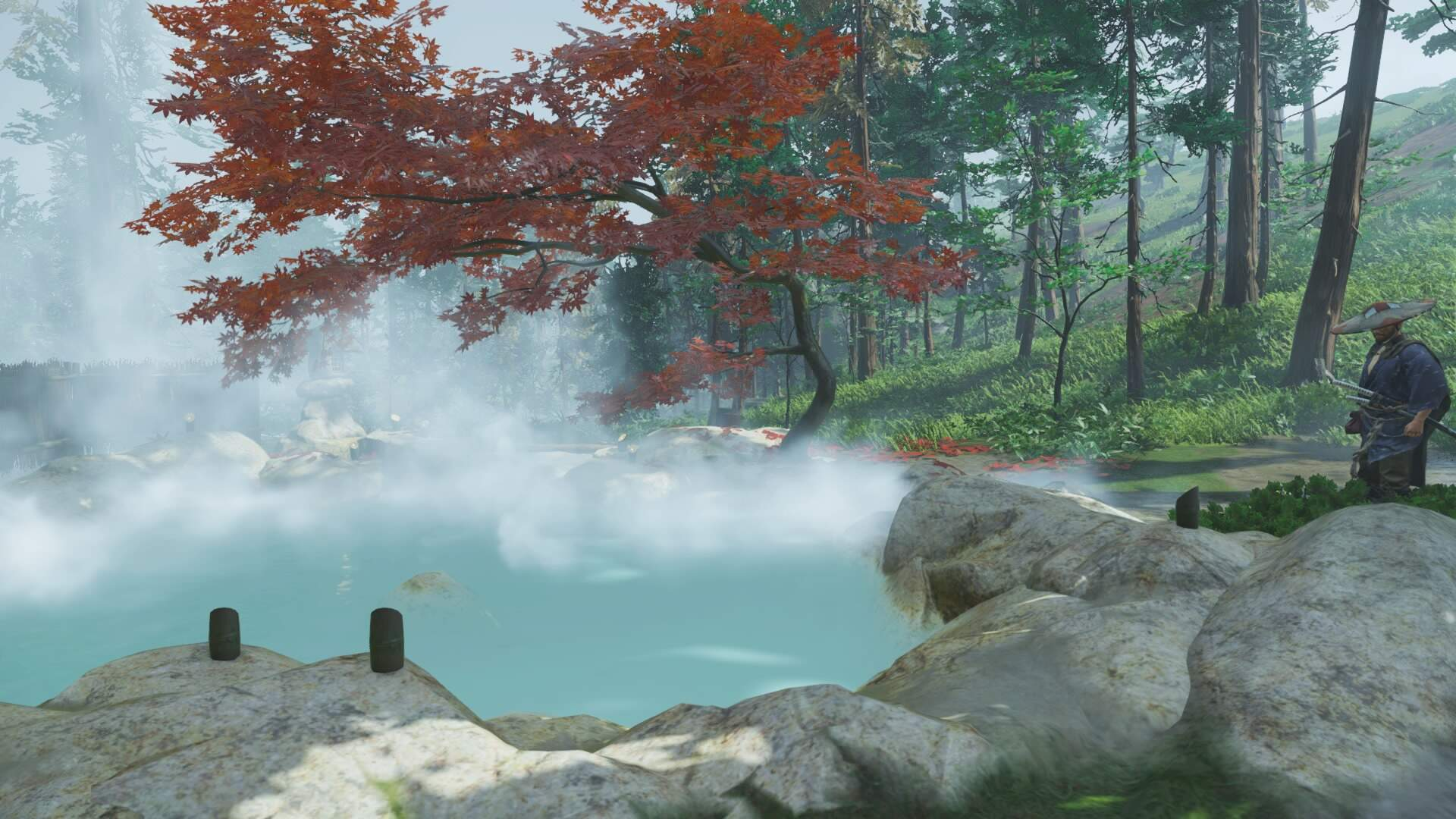 Ghost of Tsushima: All Hot Springs Locations