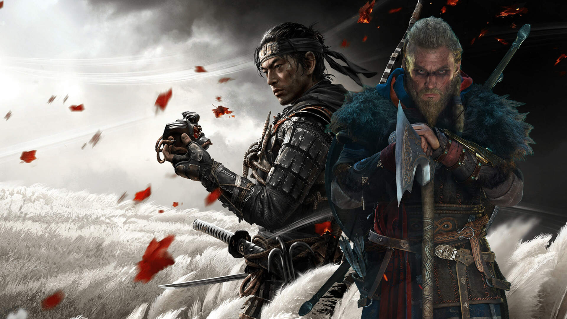 Ghost Of Tsushima Vs Assassin S Creed Valhalla The Past Meets