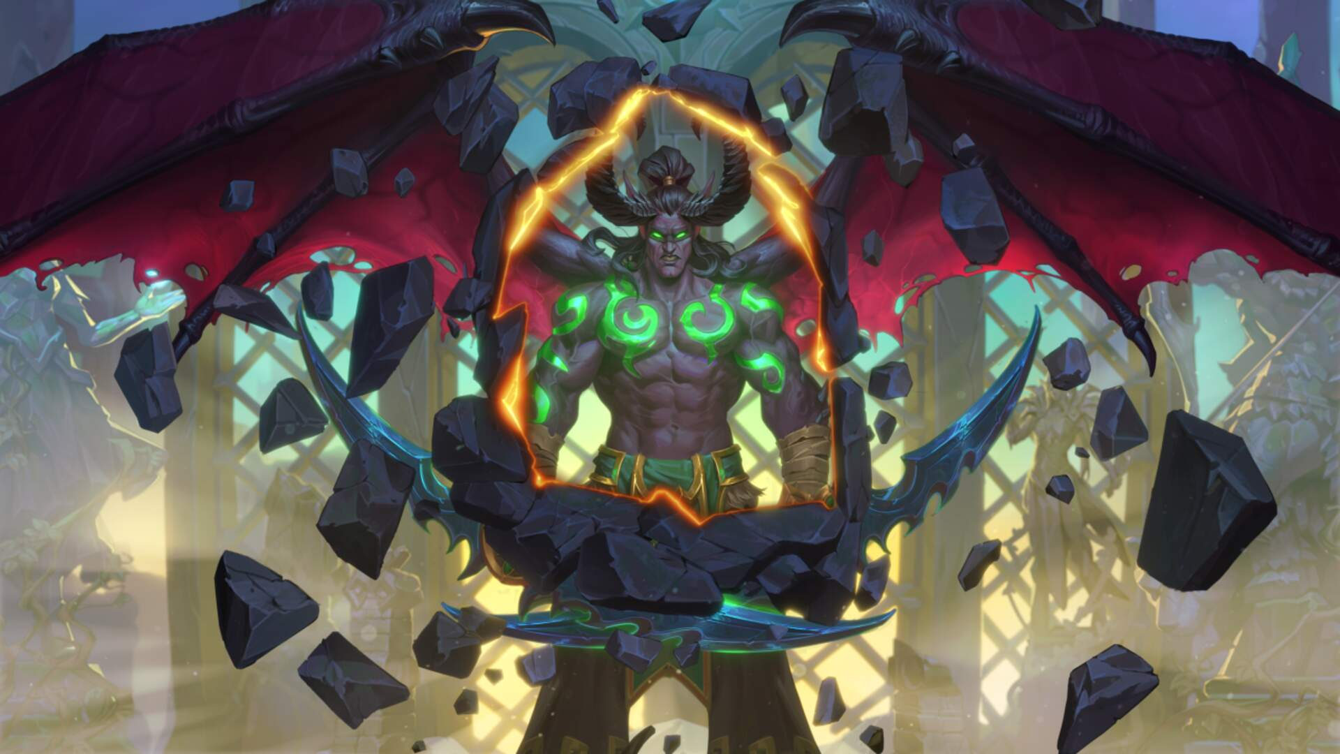 Hearthstone Is Getting Its First New Class Since Launch: The Demon Hunter