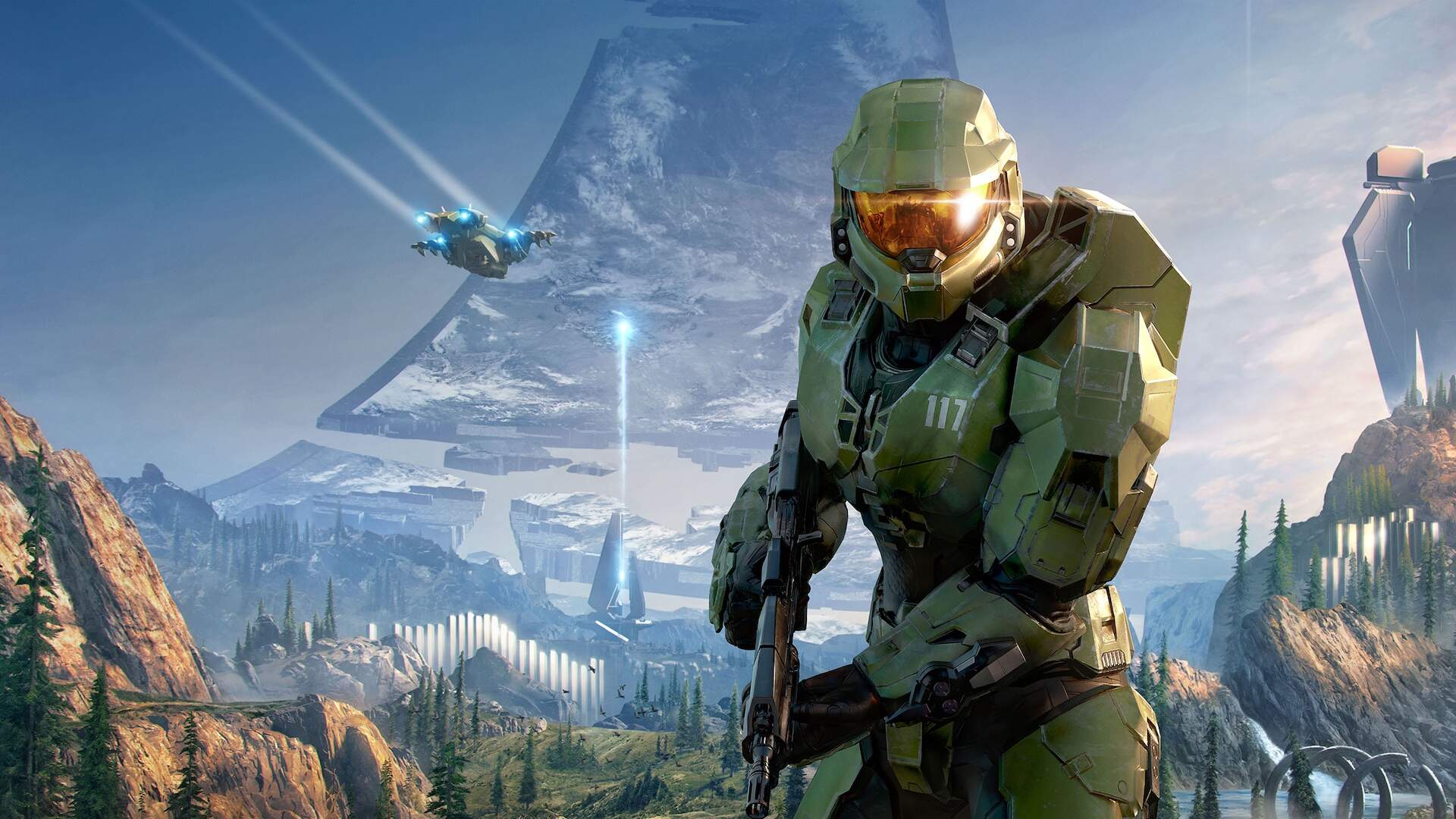 Halo Infinite's New Art Hides Some Major Details on Master Chief's Armor