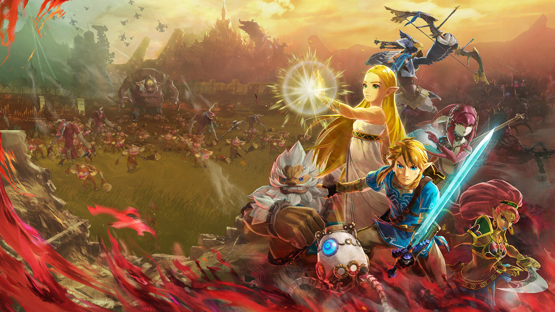 The New Trailer for the Legend of Zelda: Age of Calamity Might Contain a Link to the Past