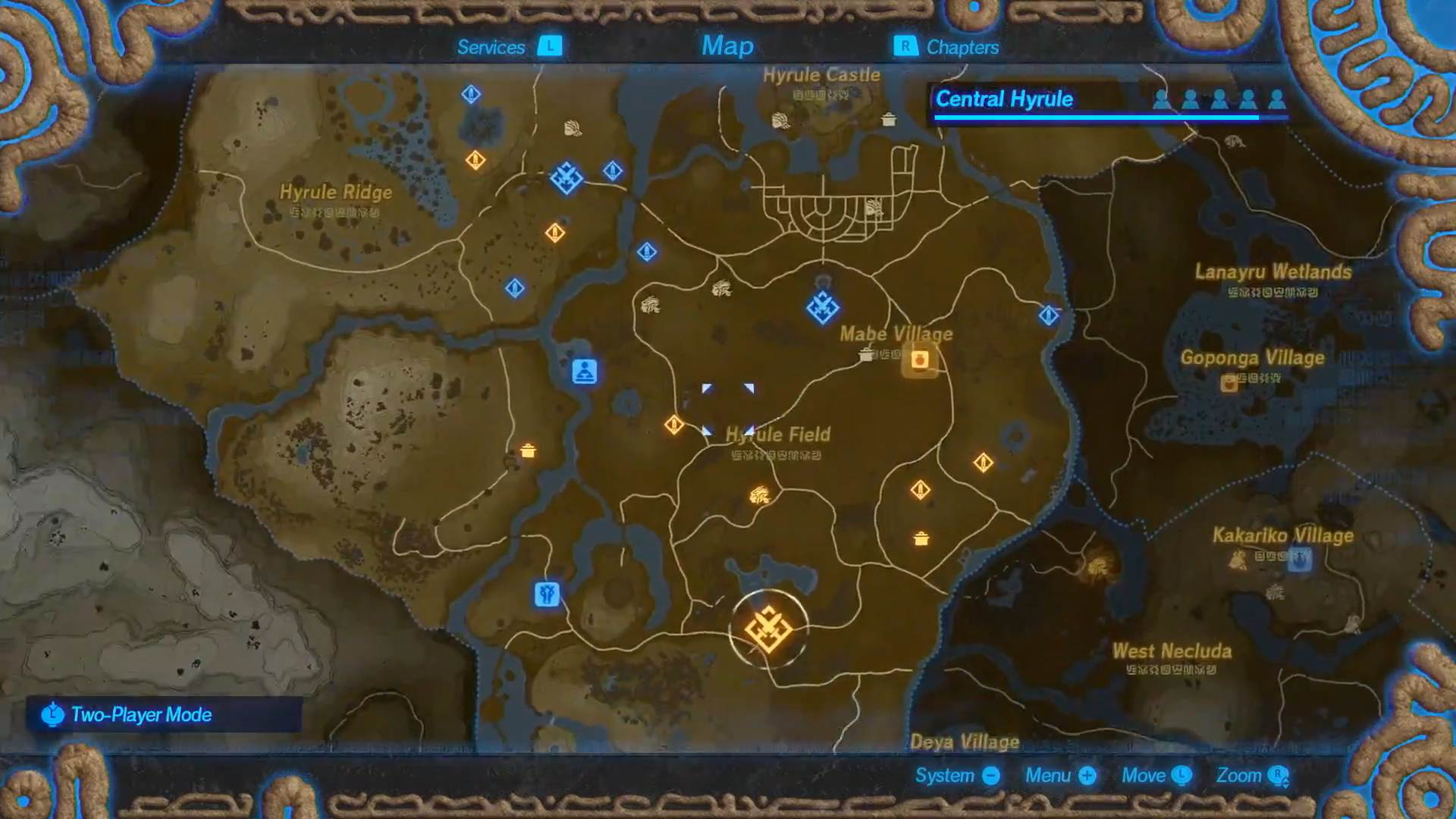 Hyrule Warriors Age Of Calamity Will Use Breath Of The Wild S Overworld Map Usgamer