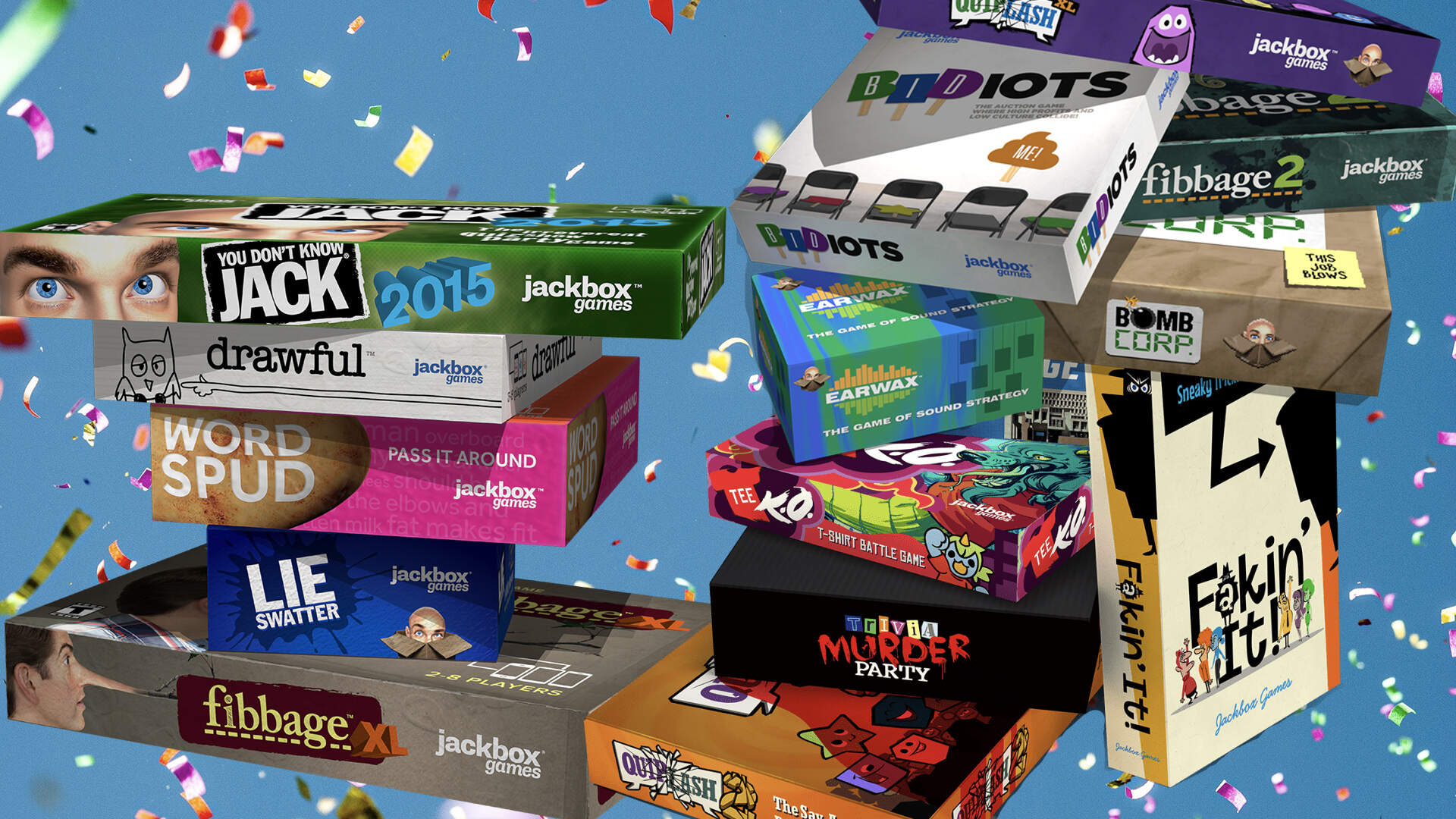 It's Time to Rank Every Single Jackbox Party Pack Game