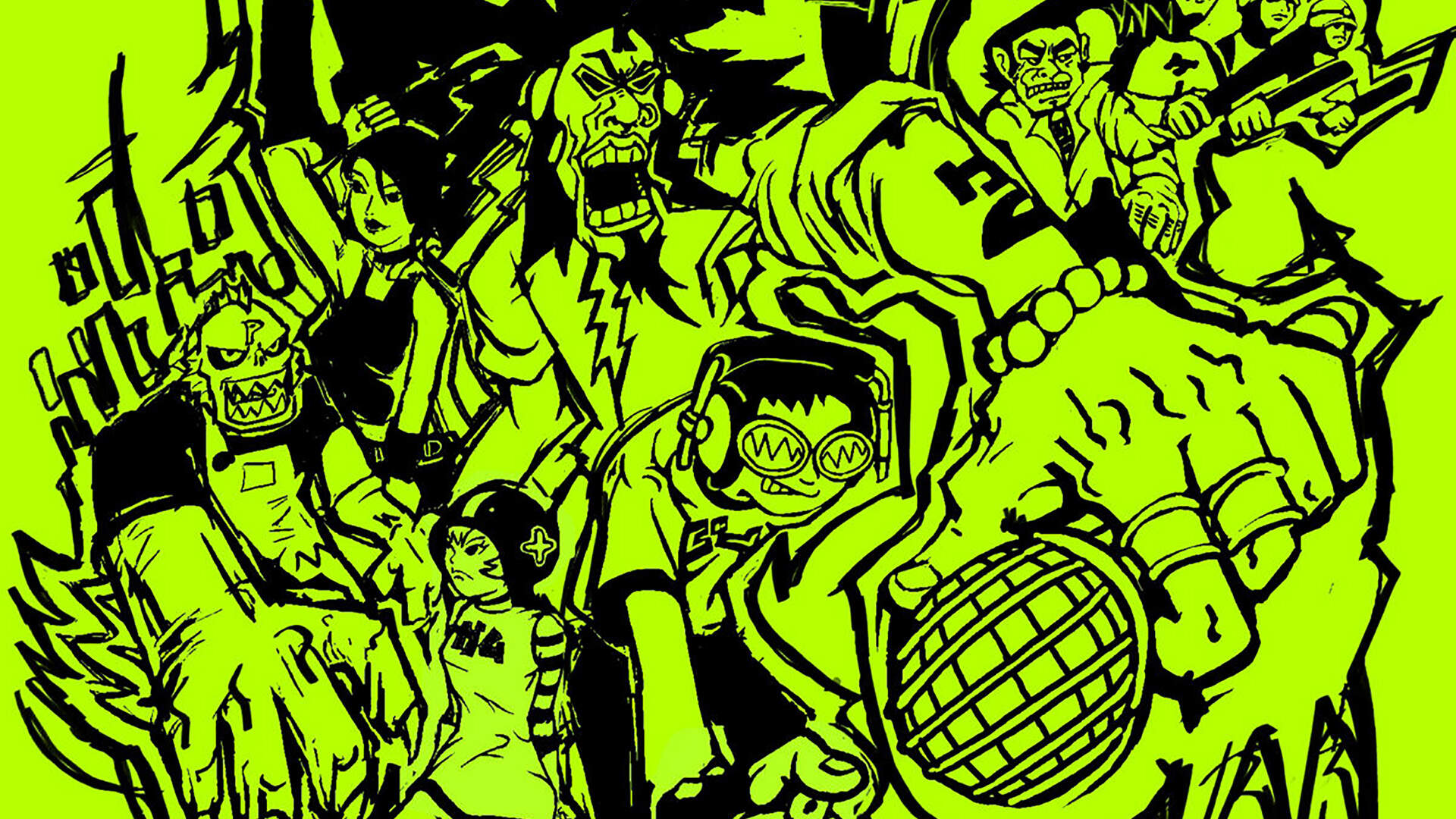 20 Years Later, The Rowdy Creators of Tokyo-to Reflect on Making Jet Set Radio