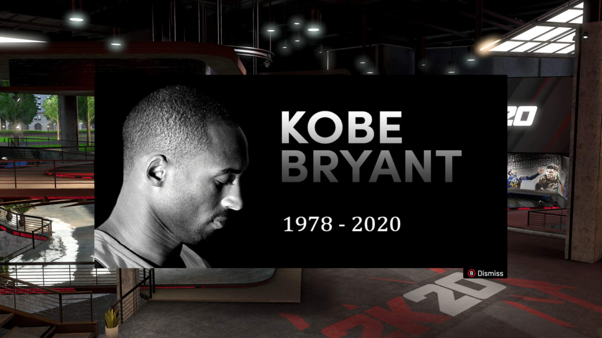 NBA 2K20 and Its Players Pay Tribute to Kobe Bryant