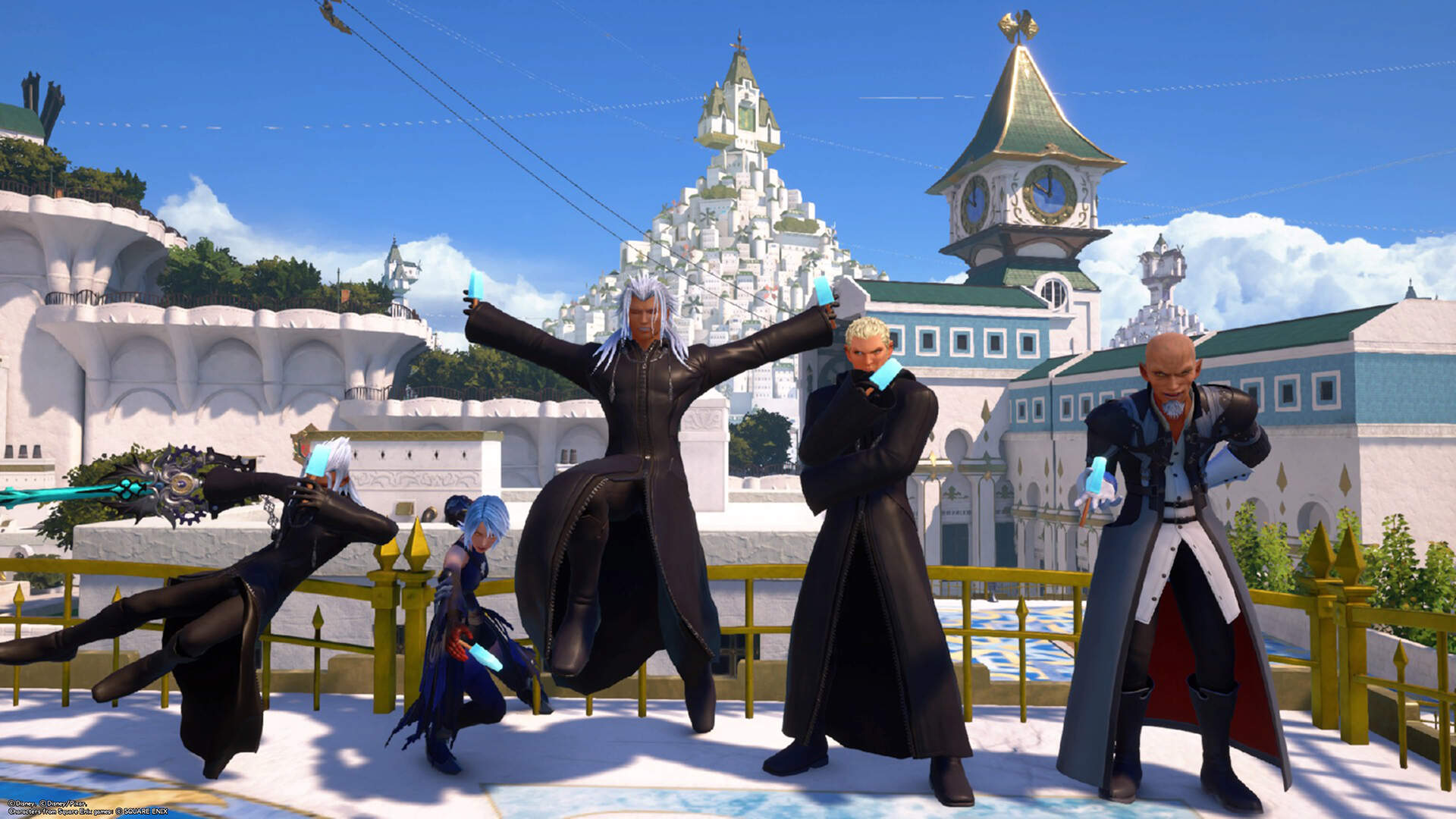 Help I Can't Stop Making Xehanort Look Cute in Kingdom Hearts 3's Re Mind DLC Data Greeting Mode