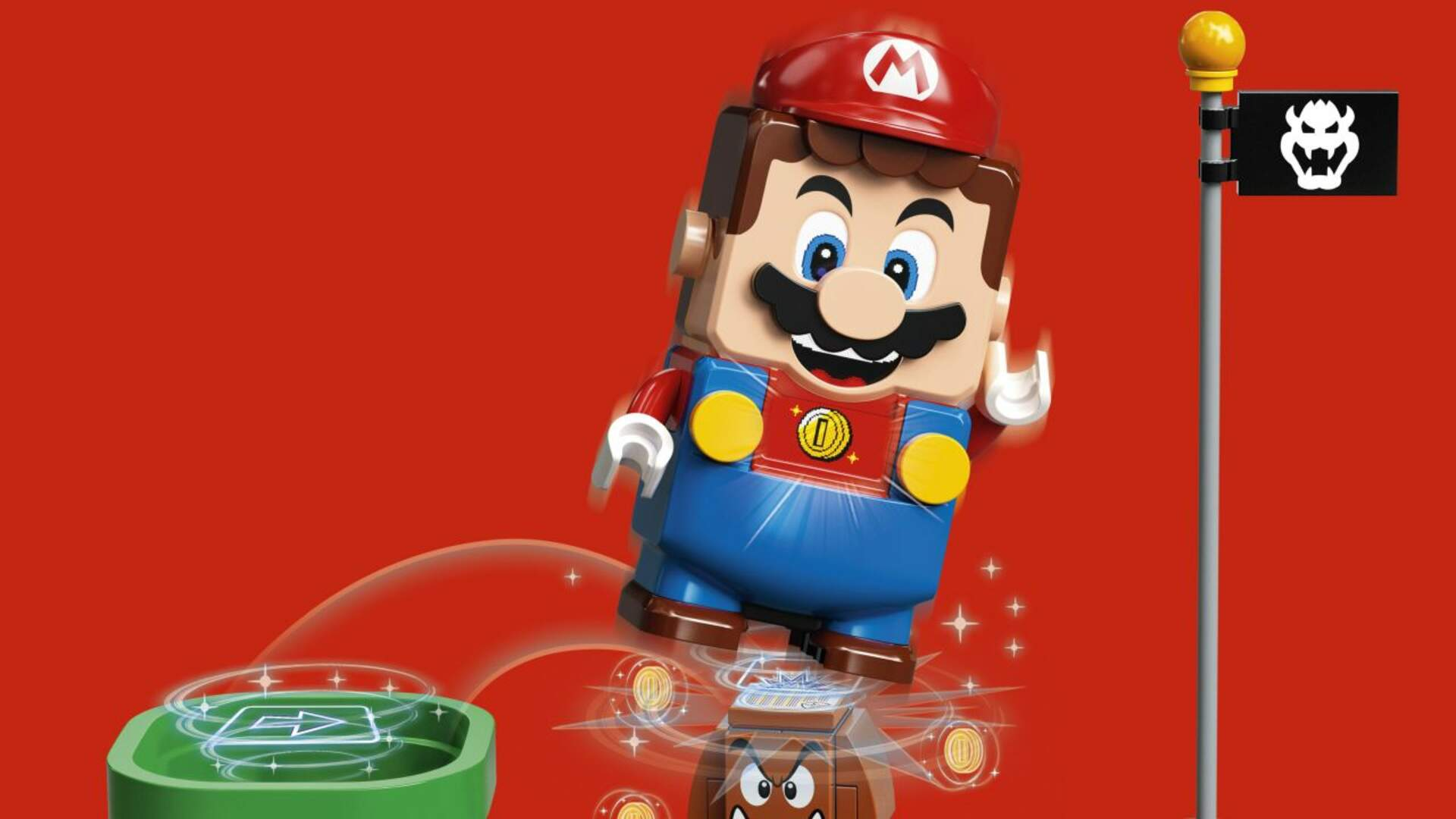 Lego Super Mario Brings the Plumber to Life With Lego Bricks