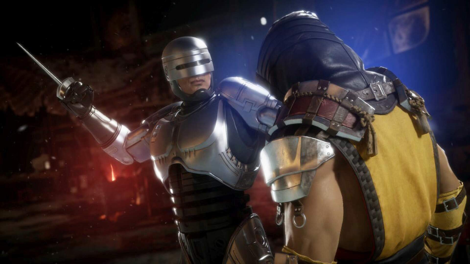 Mortal Kombat 11 Aftermath Continues The Story And Adds Robocop