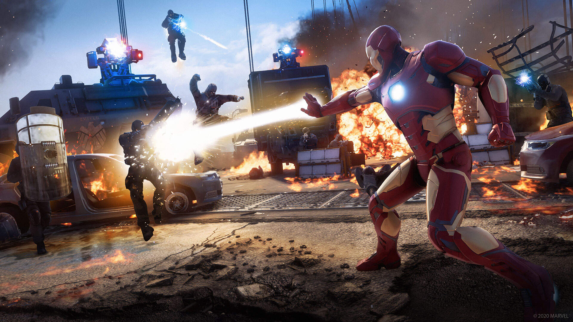 After 9 Hours, Marvel's Avengers Spends a Lot of Time Fighting Itself