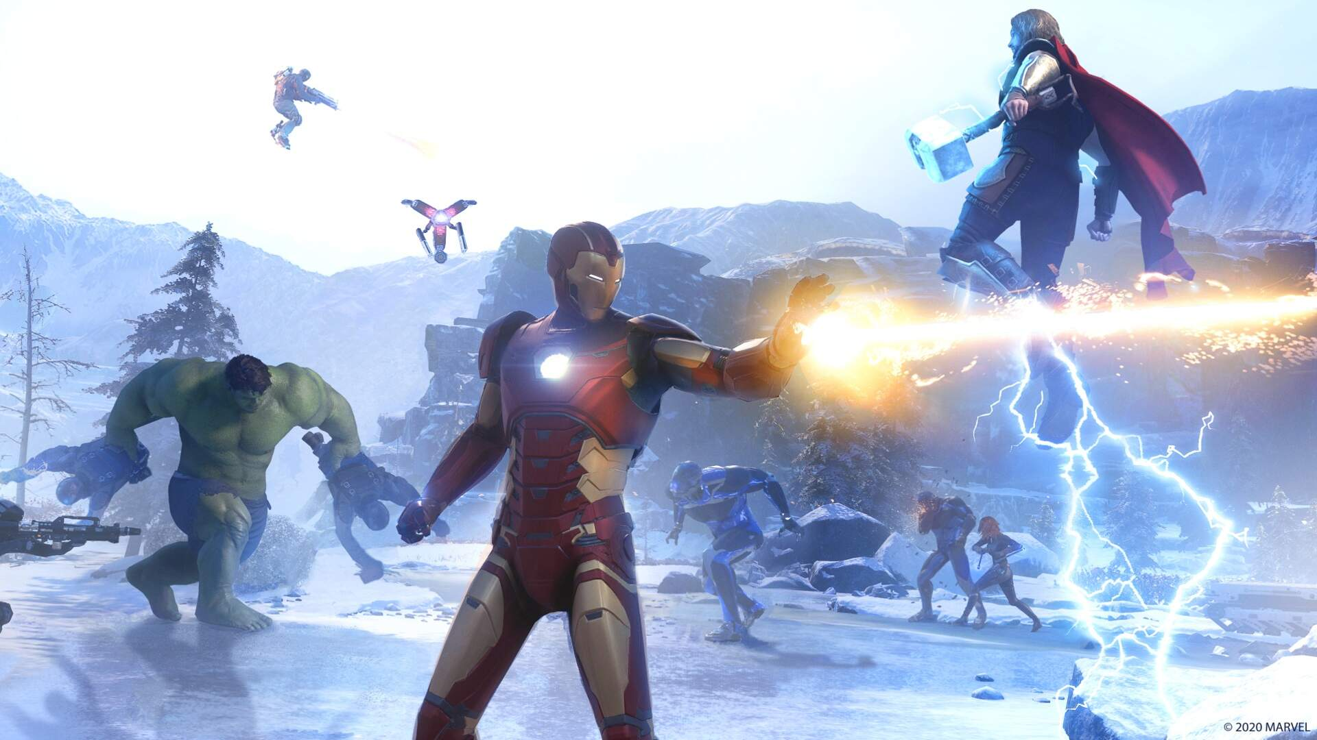 Marvel's Avengers Datamined DLC Characters Include Captain Marvel, She Hulk, Kate Bishop, and More