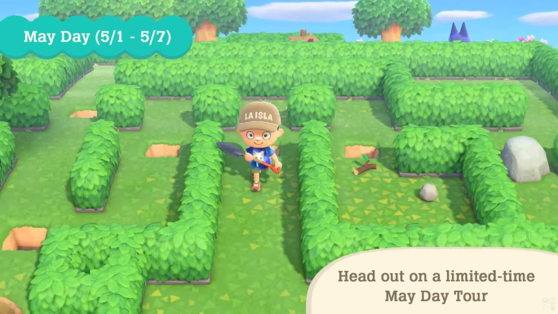 Animal Crossing New Horizons: How to Get Through the May Day Maze