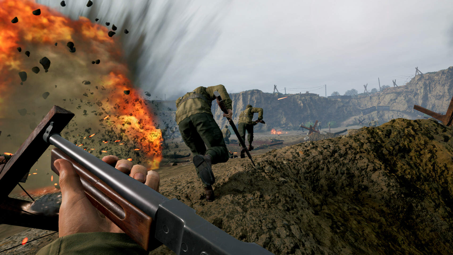 Medal of Honor: Above and Beyond's Multiplayer Looks Surprisingly In-Depth for VR